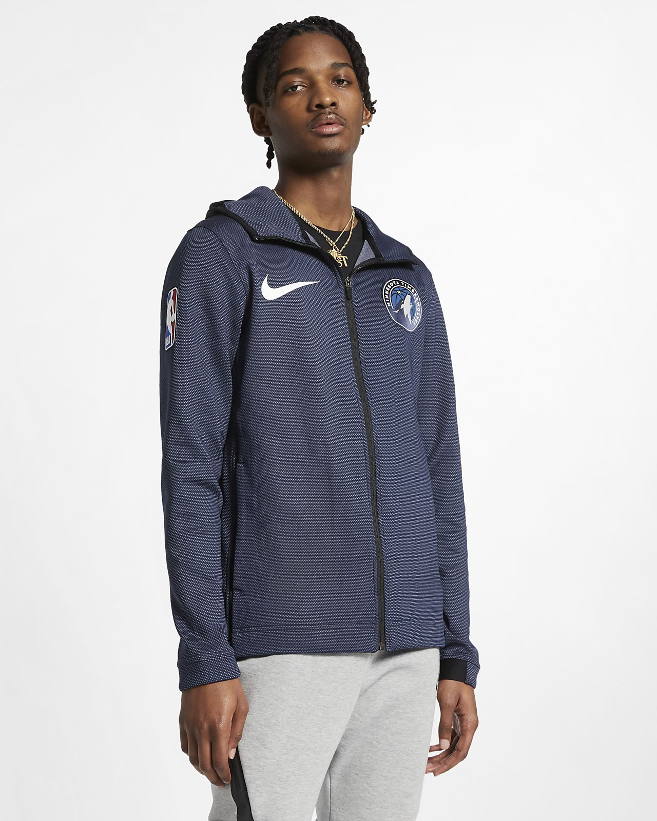 Minnesota Timberwolves Nike Therma Flex Showtime Men's NBA Hoodie