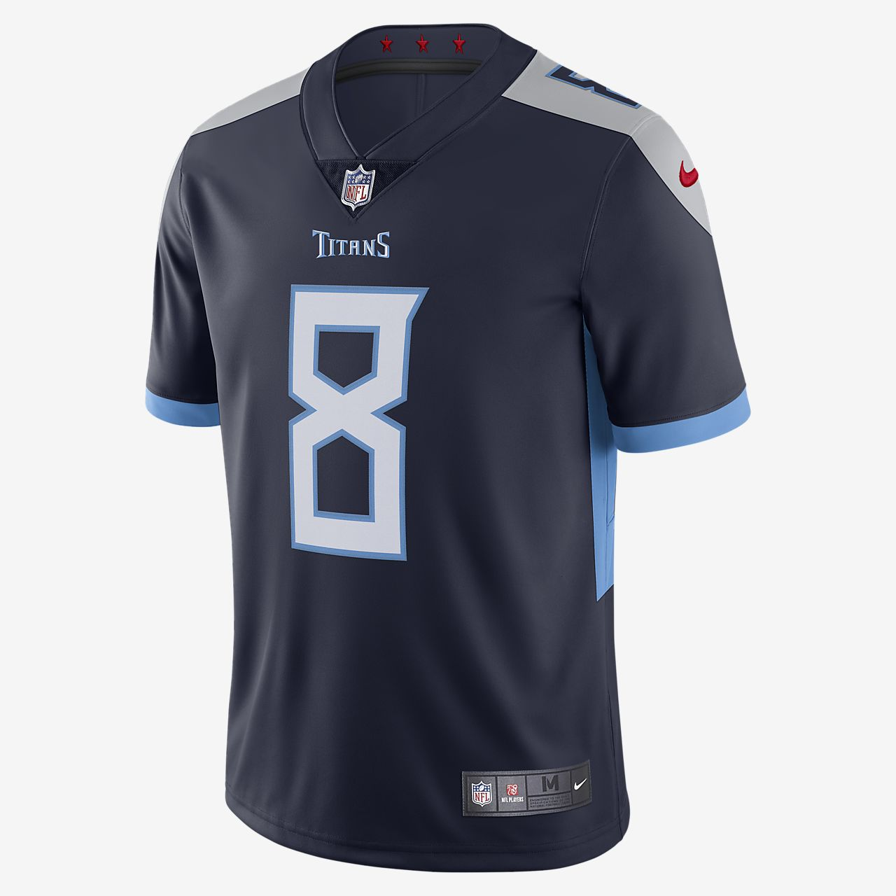 NFL Tennessee Titans (Marcus Mariota) Men's Limited Vapor Untouchable Football Jersey