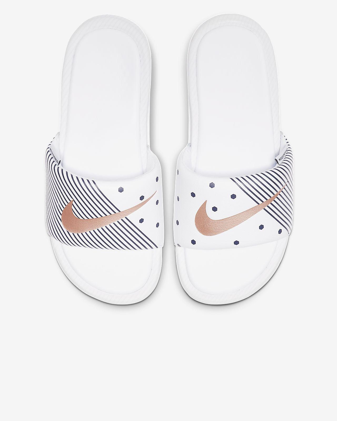énorme réduction e1e45 2eb86 Claquette Nike Benassi Unité Totale pour Femme