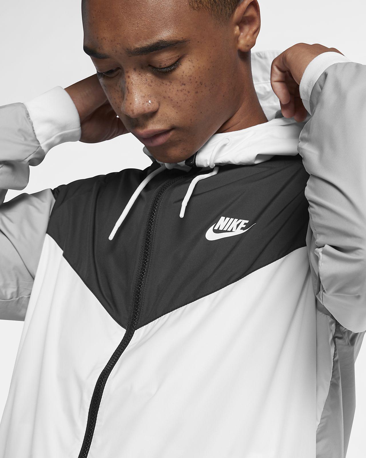 Nike Windrunner NERO Uomo Scarpe da ginnastica Tutte le TAGLIE STOCK LIMITATA