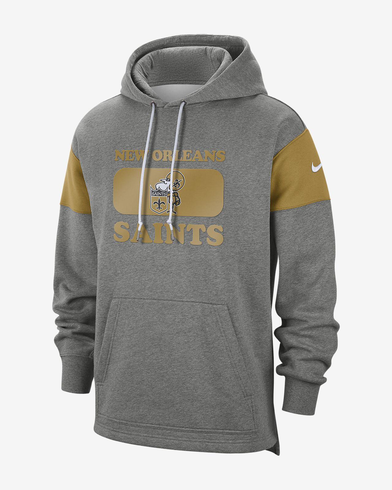 watch 14116 a8837 Nike (NFL Saints) Men's Hoodie