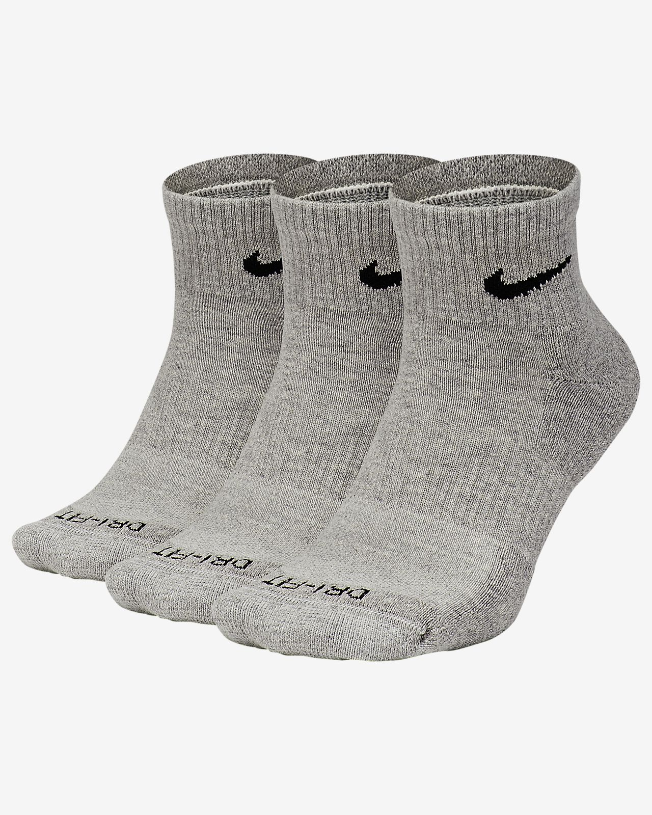 Nike Everyday Plus Training Cushion Ankle Socks (3 Pairs)