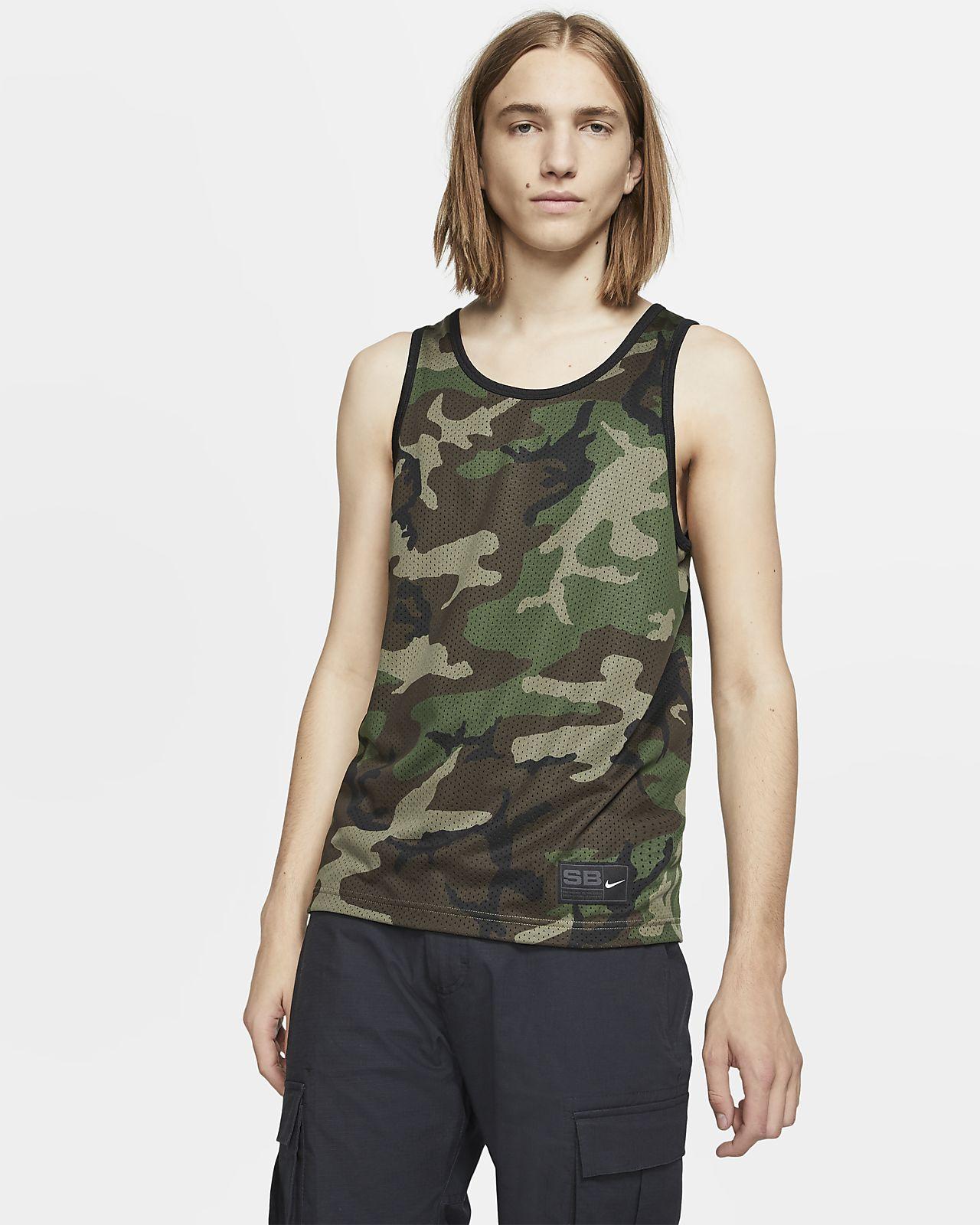 Haut de skateboard sans manches en mesh Nike SB Dri-FIT pour Homme