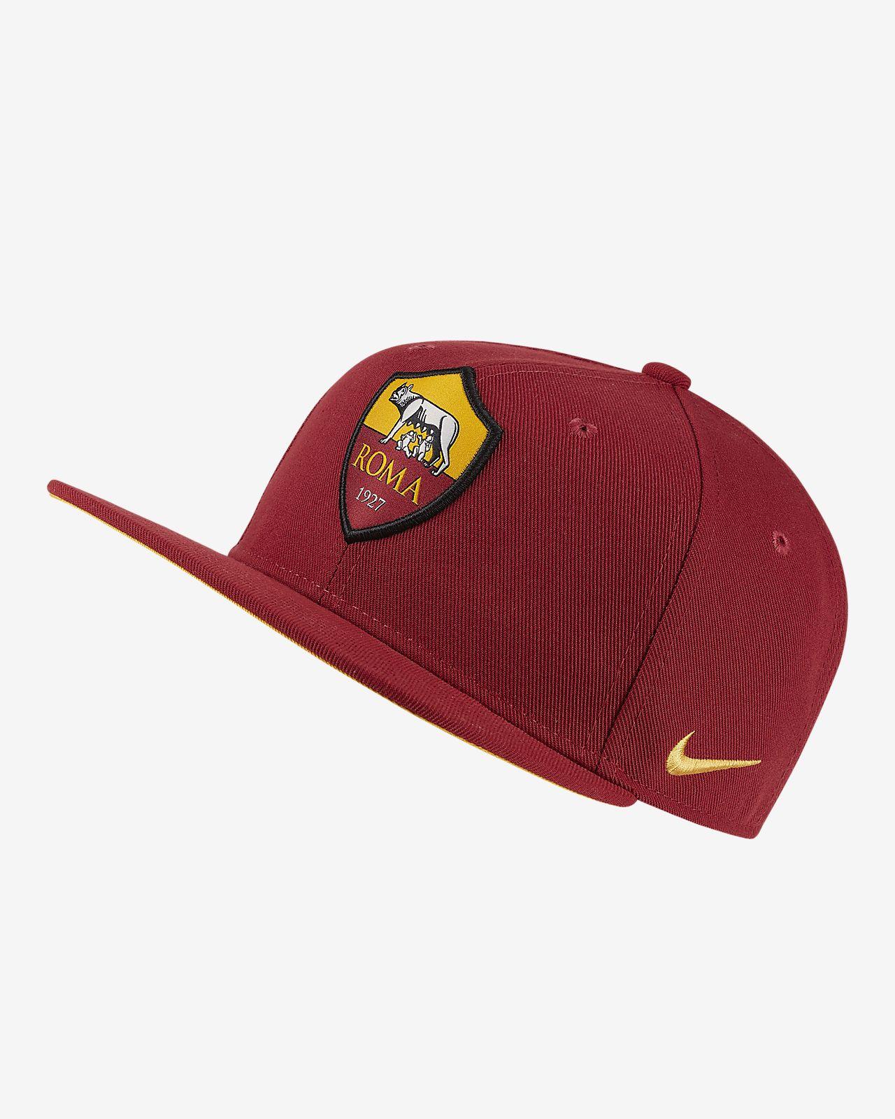 Ρυθμιζόμενο καπέλο Nike Pro A.S. Roma για μεγάλα παιδιά