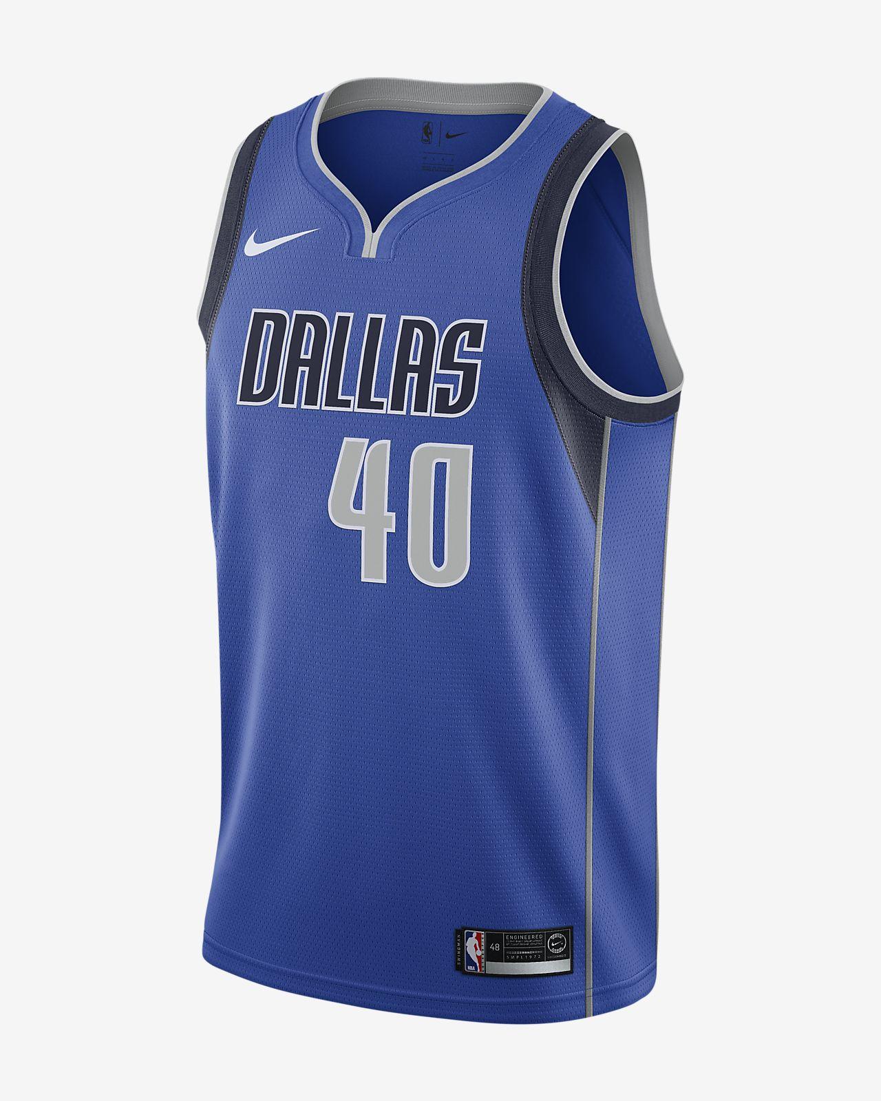 Harrison Barnes Mavericks Icon Edition Nike NBA Swingman-trøje