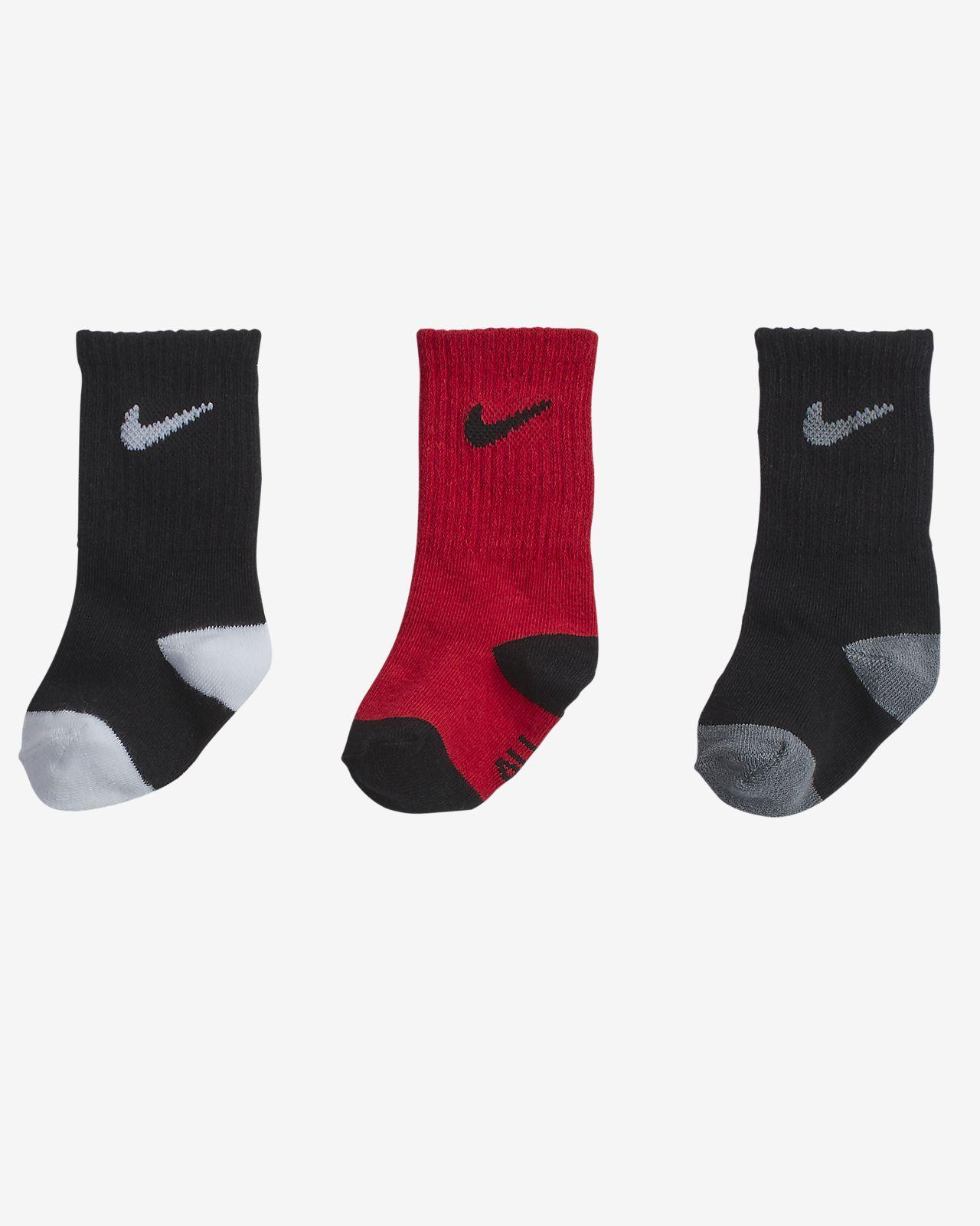 Nike Toddler Crew Socks (3 Pairs)