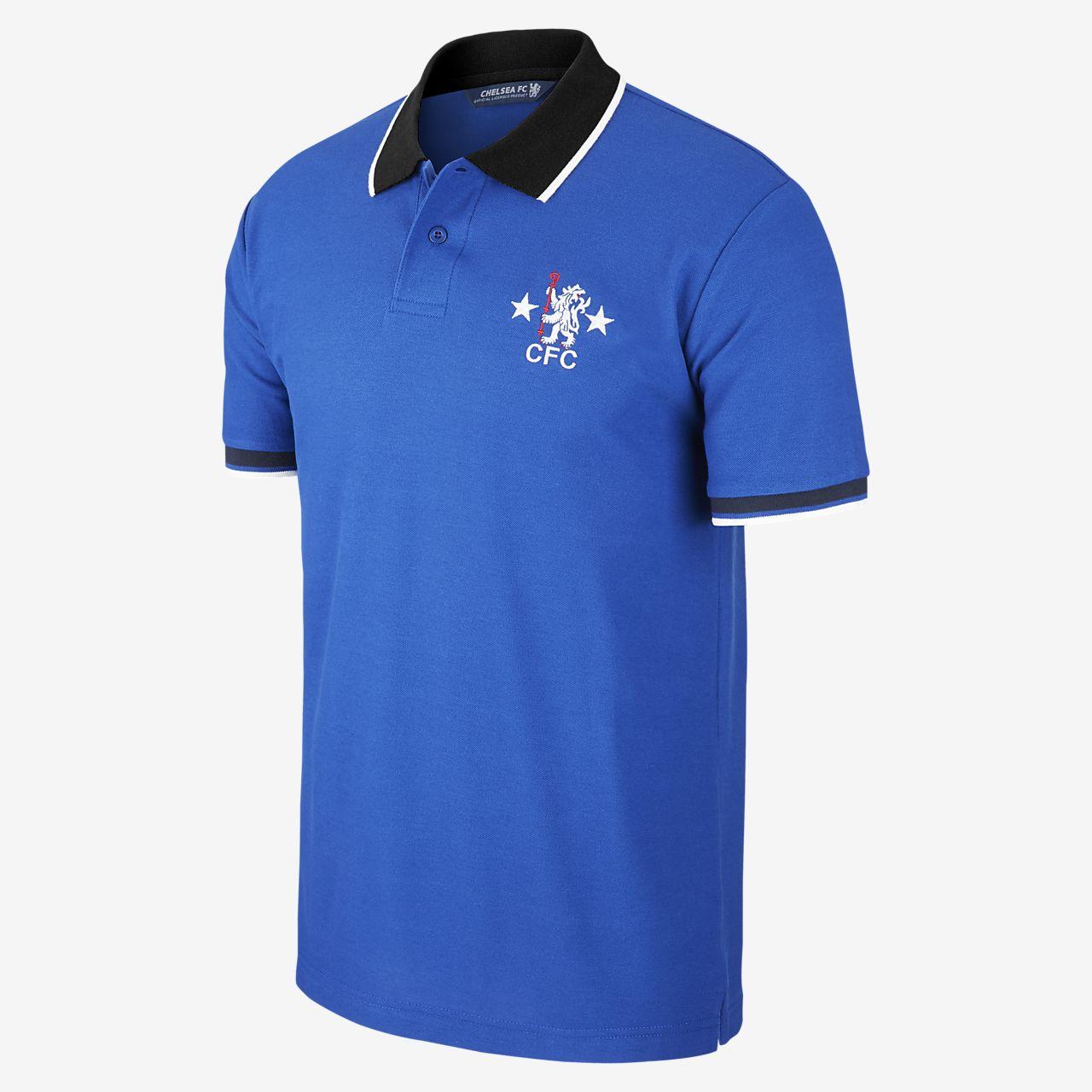 Nike FC Chelsea Crest Poloshirt Herren ouOd7