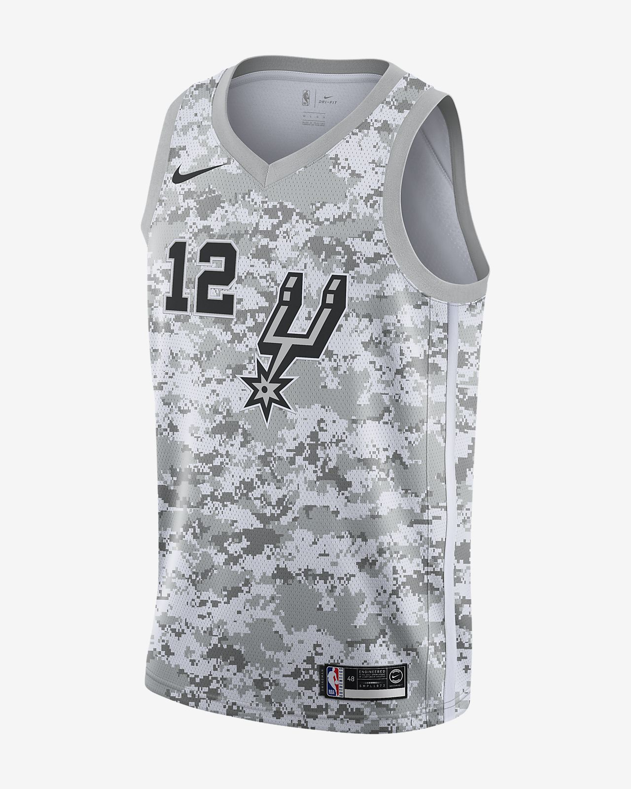 3c5c99d14ed Men s Nike NBA Connected Jersey. LaMarcus Aldridge Earned City Edition  Swingman (San Antonio Spurs)