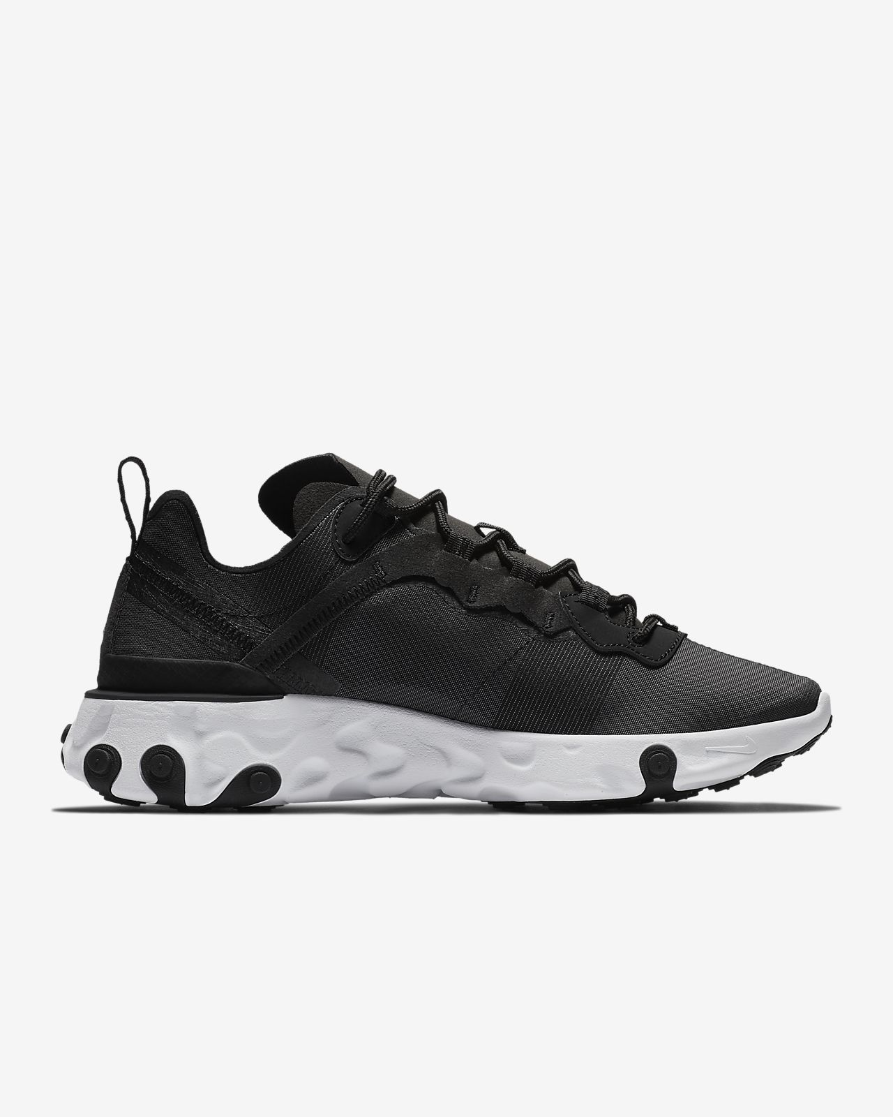 Special Prices on Nike React Element 55 sneakers in black