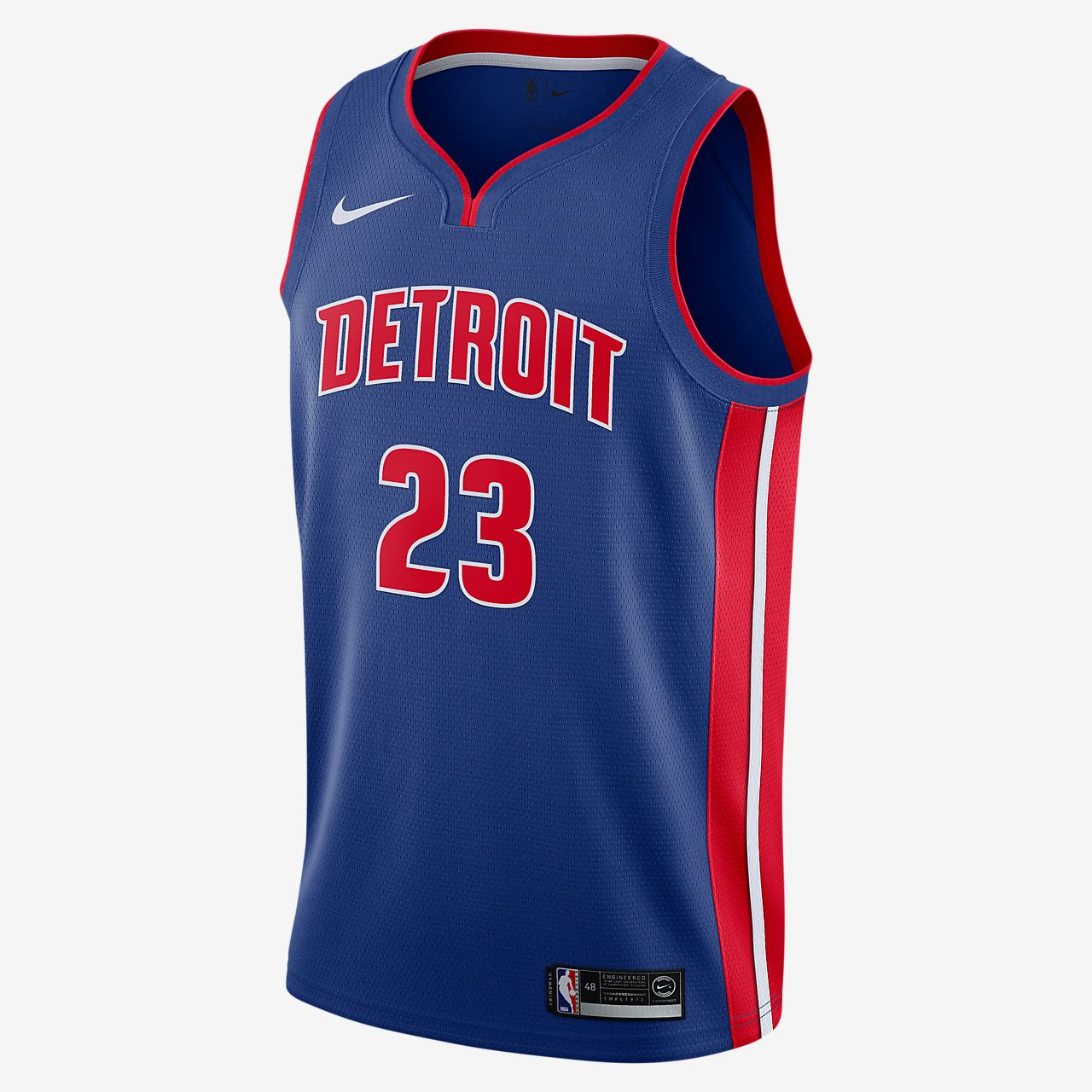 Blake Griffin Pistons Icon Edition Nike NBA Swingman Trikot