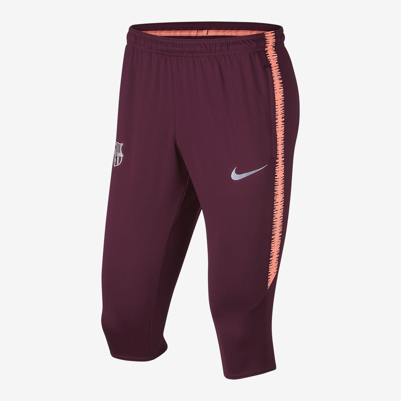 66617db65226 FC Barcelona Dri-FIT Squad Men s 3 4 Football Pants. Nike.com GB
