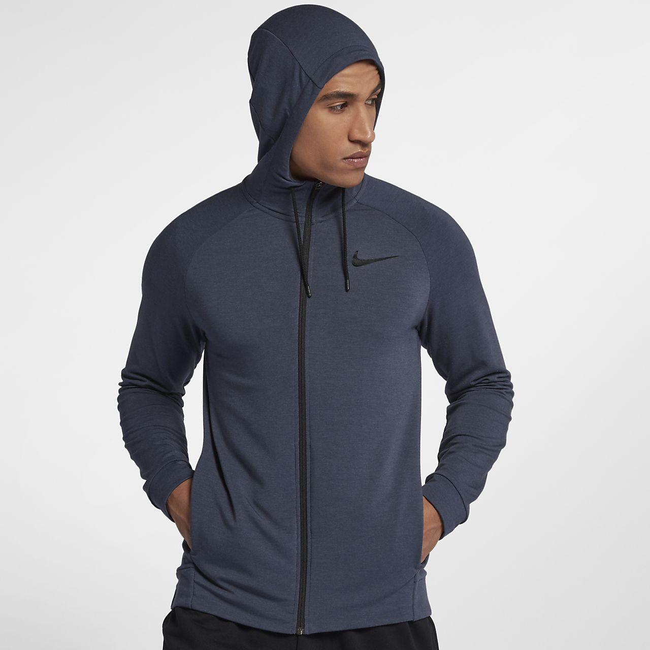 Men's Nike Dri-FIT Full-Zip - Training Hoodie IQ395164n