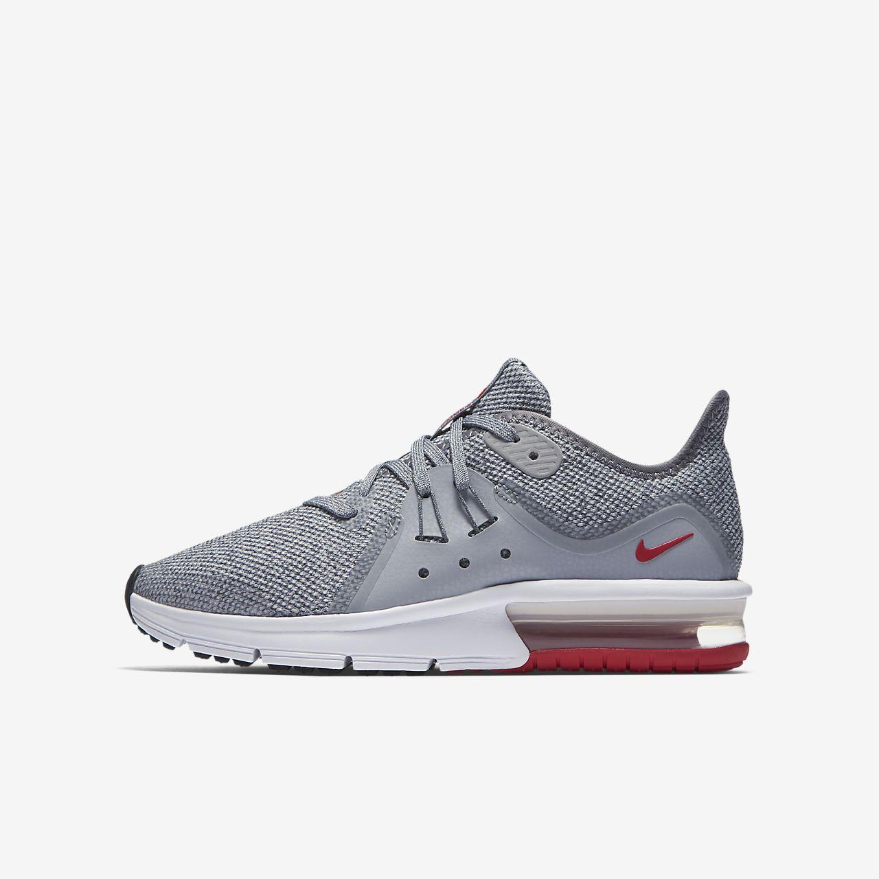 Garçons Nike Chaussures De Course Air Max Sequent