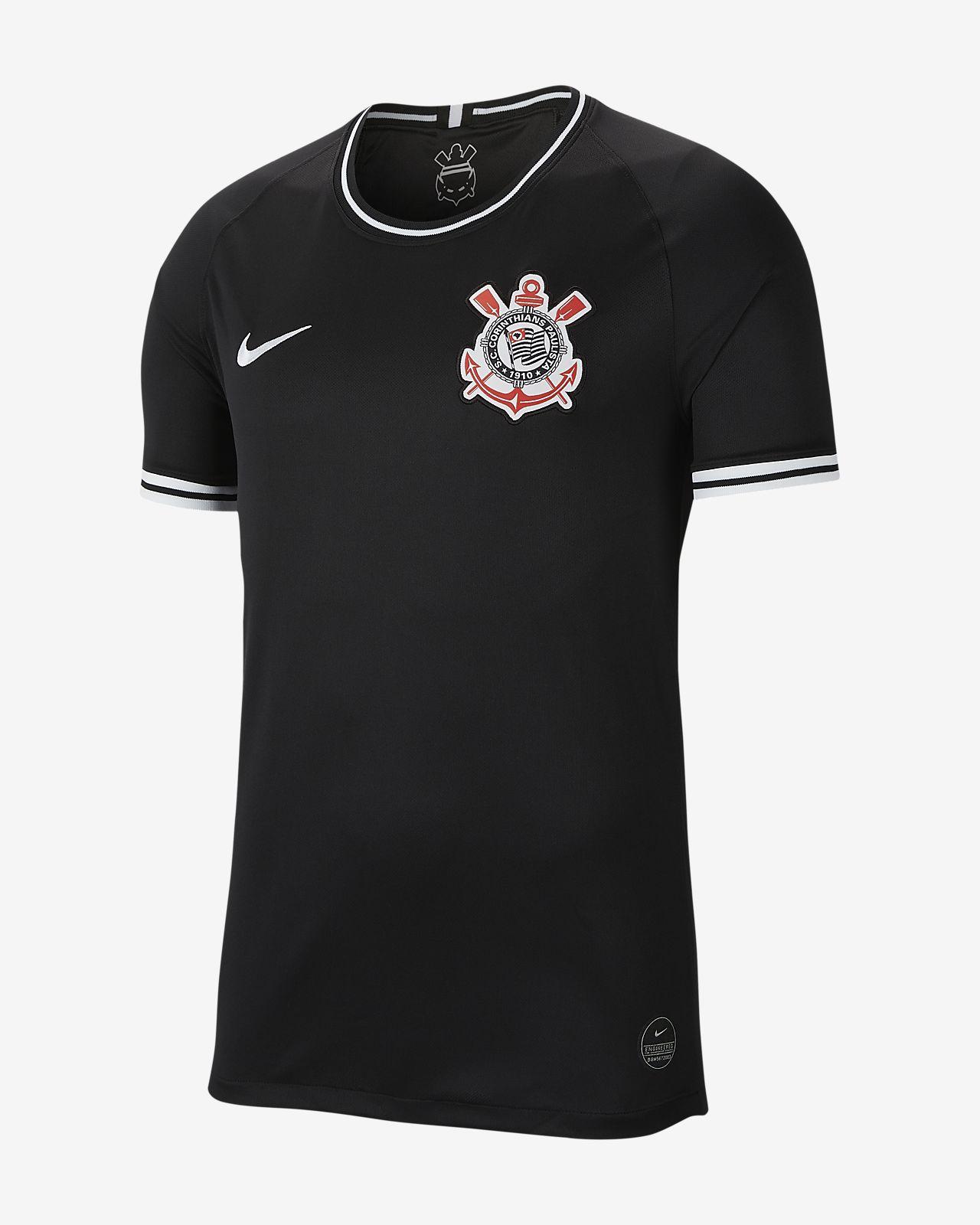S.C. Corinthians 2019/20 Stadium Away-fodboldtrøje til mænd