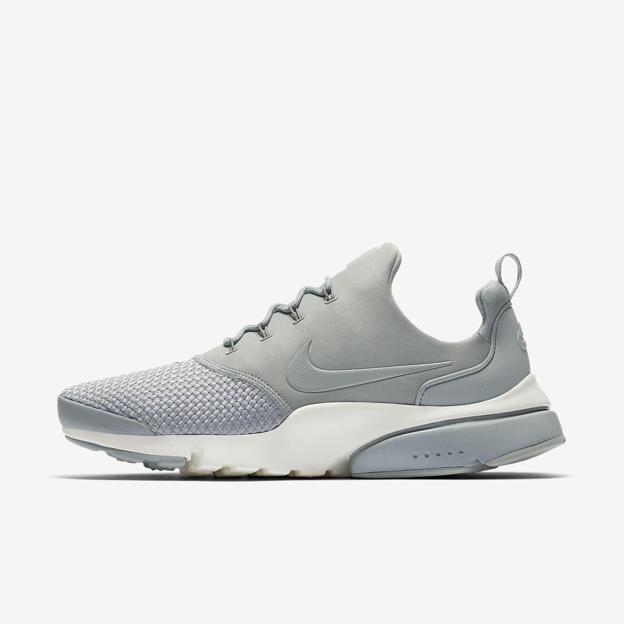 Nike Presto Fly, Baskets Homme, Blanc (White/White-White 100), 40 EU