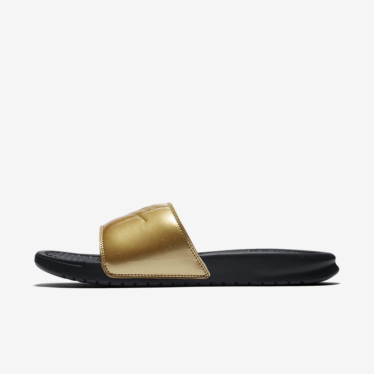 Toffel Nike Benassi JDI Metallic för kvinnor