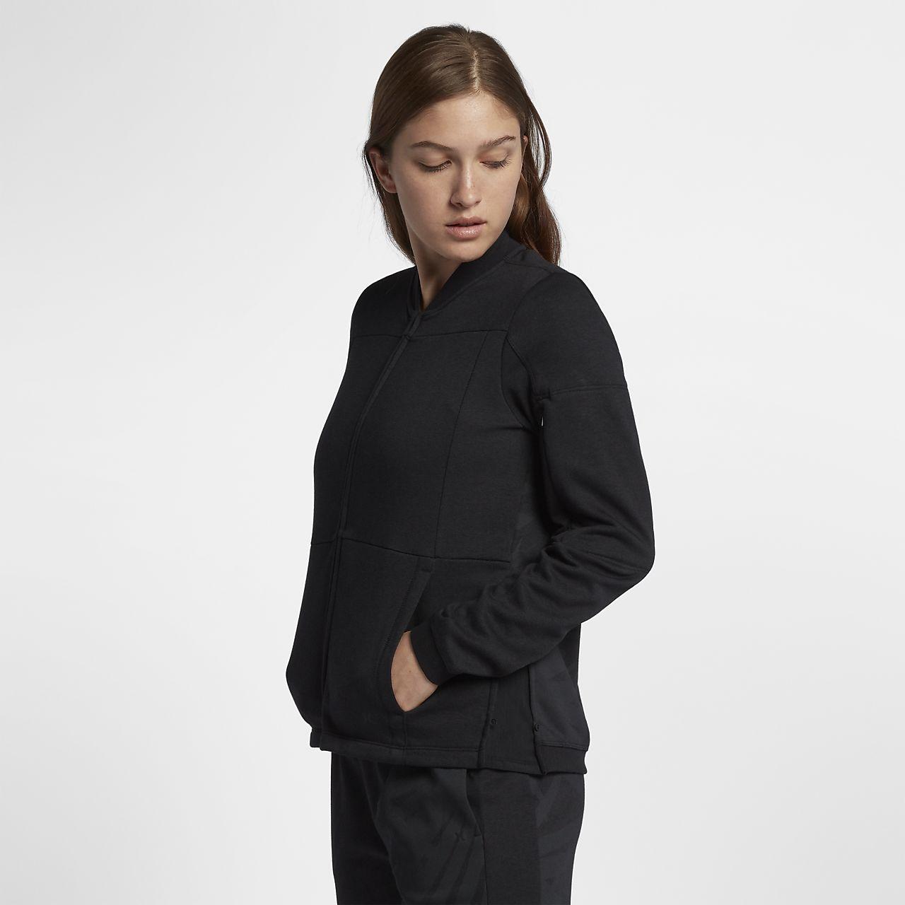 60a51f644546 Hurley Palmer Bomber Women s Fleece Jacket. Nike.com HR