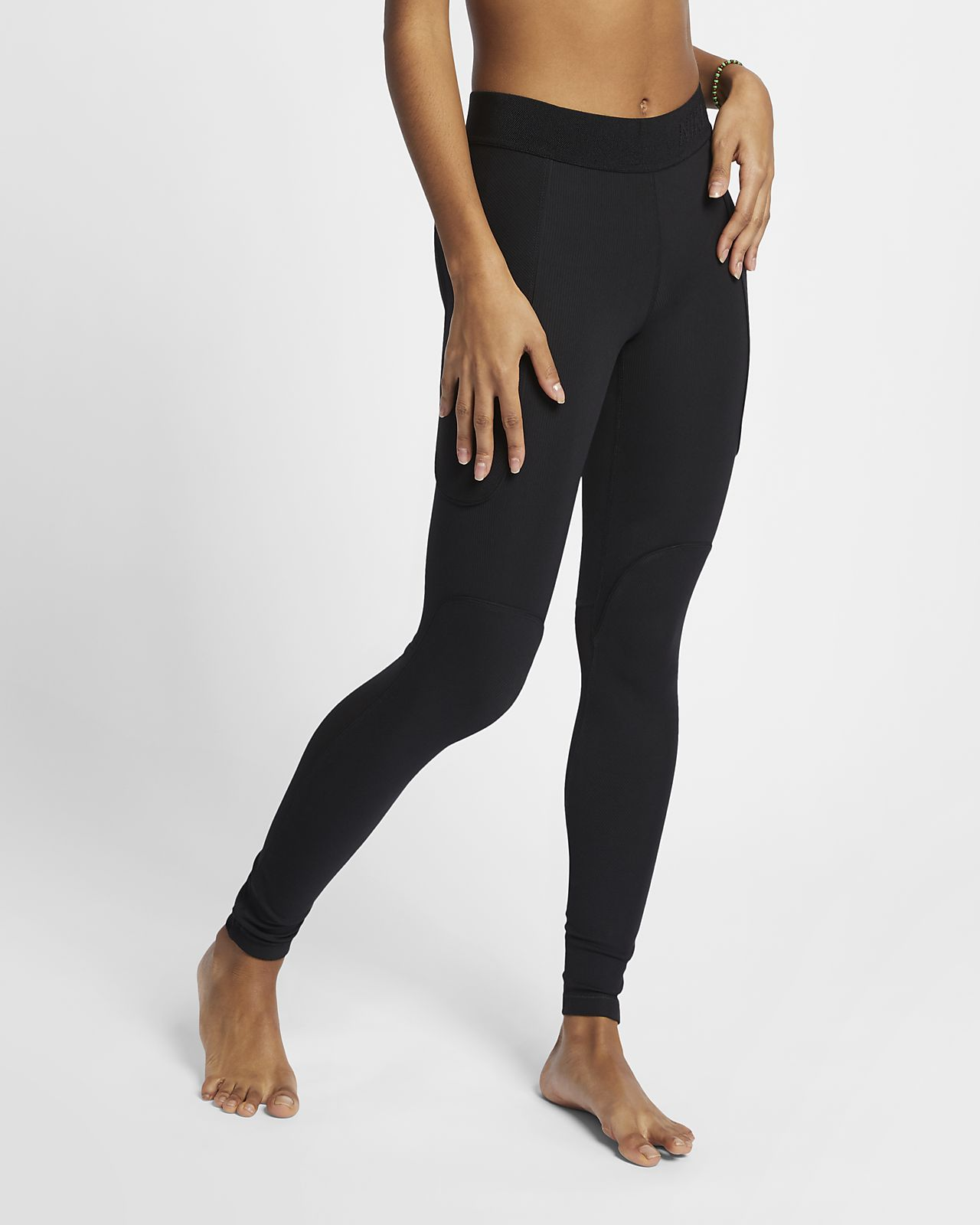 f13b530d94540 Nike Pro HyperCool Women's Ribbed Tights