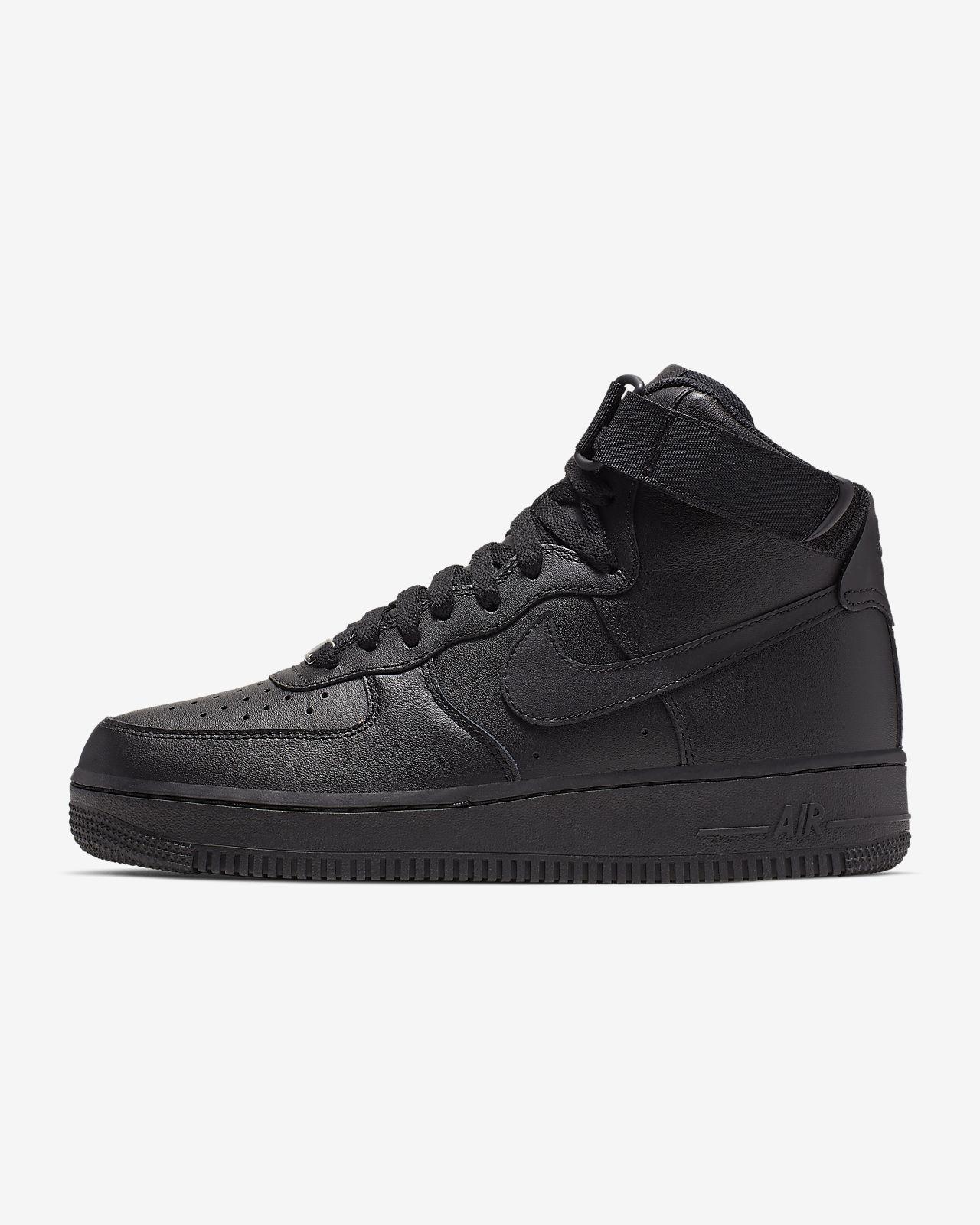 Najlepsze Kup Nike Kobiety Air Force 1 Flyknit High Black