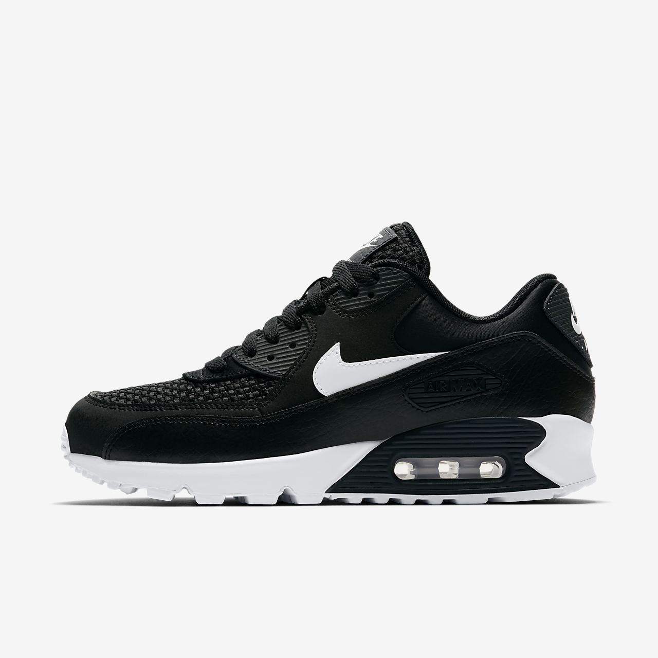 nike air max 90 triple black womens nz