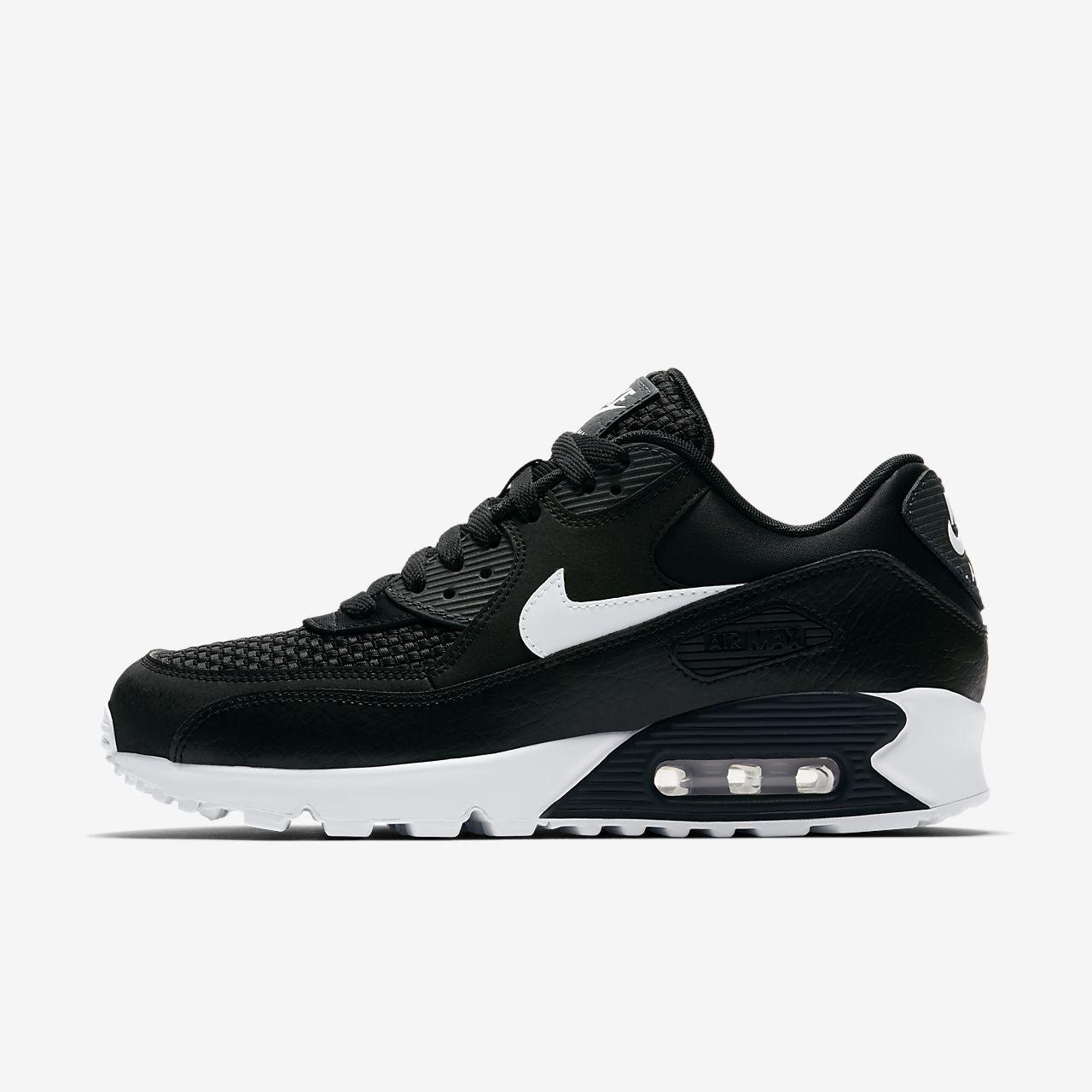 Air Max Nike ZERO NERA Premium bianco misura UK 8 9 10 sportive da corsa scarpe