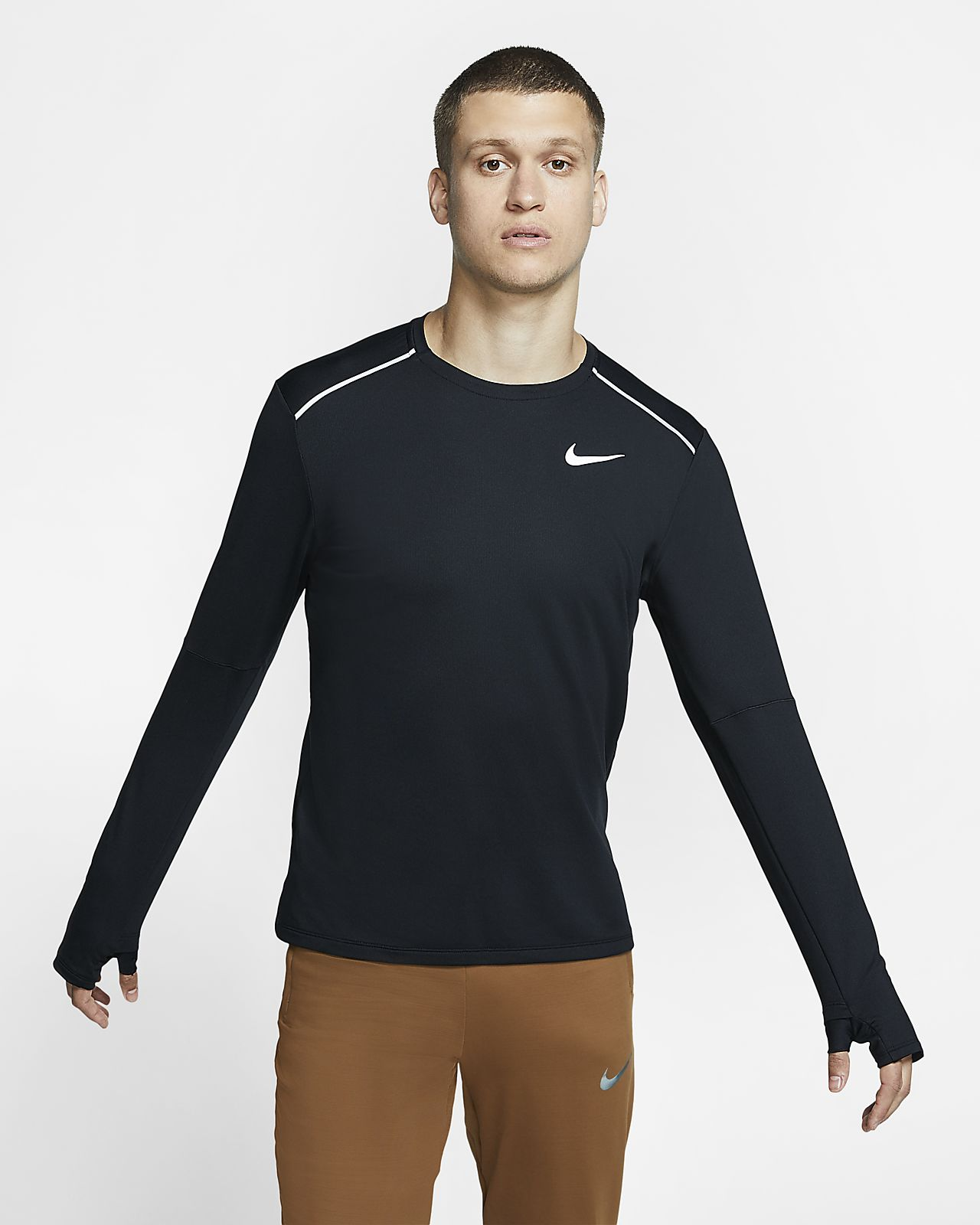 Nike 3.0 Lauf-Rundhalsshirt für Herren