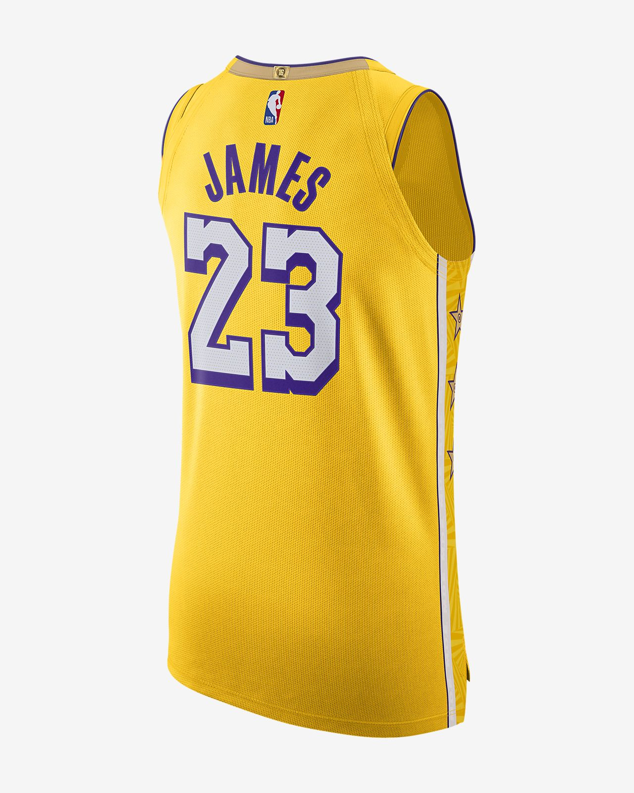 Lebron James Lakers City Edition Men S Nike Nba Authentic Jersey