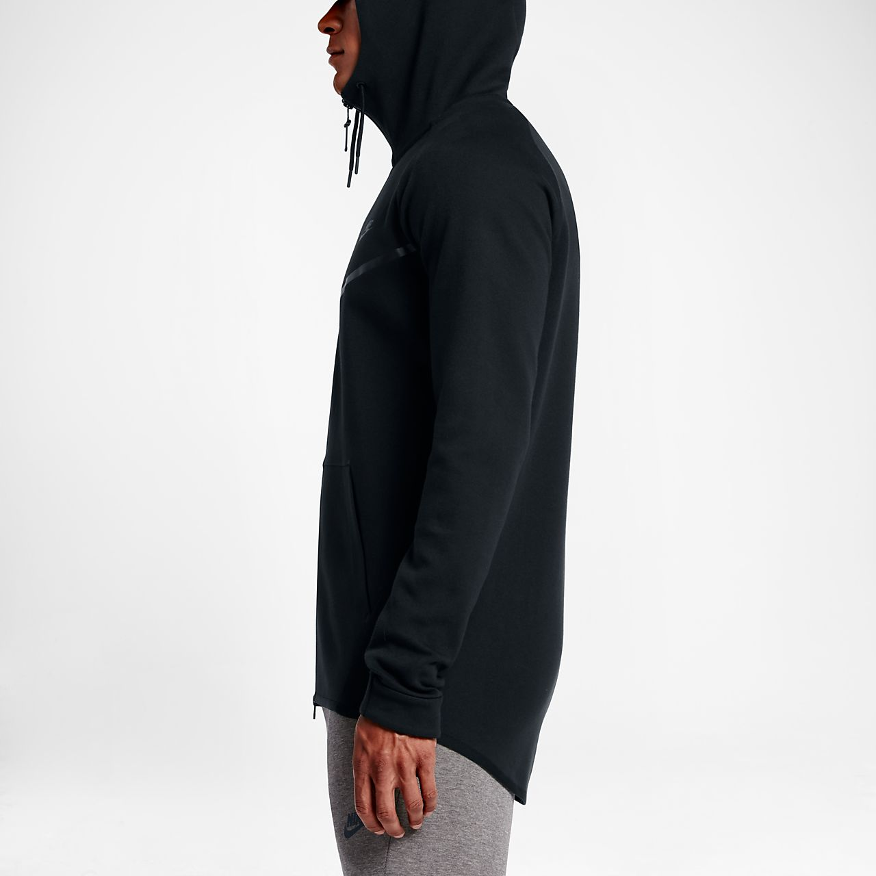 nike sportswear tech fleece windrunner men 39 s full zip hoodie. Black Bedroom Furniture Sets. Home Design Ideas