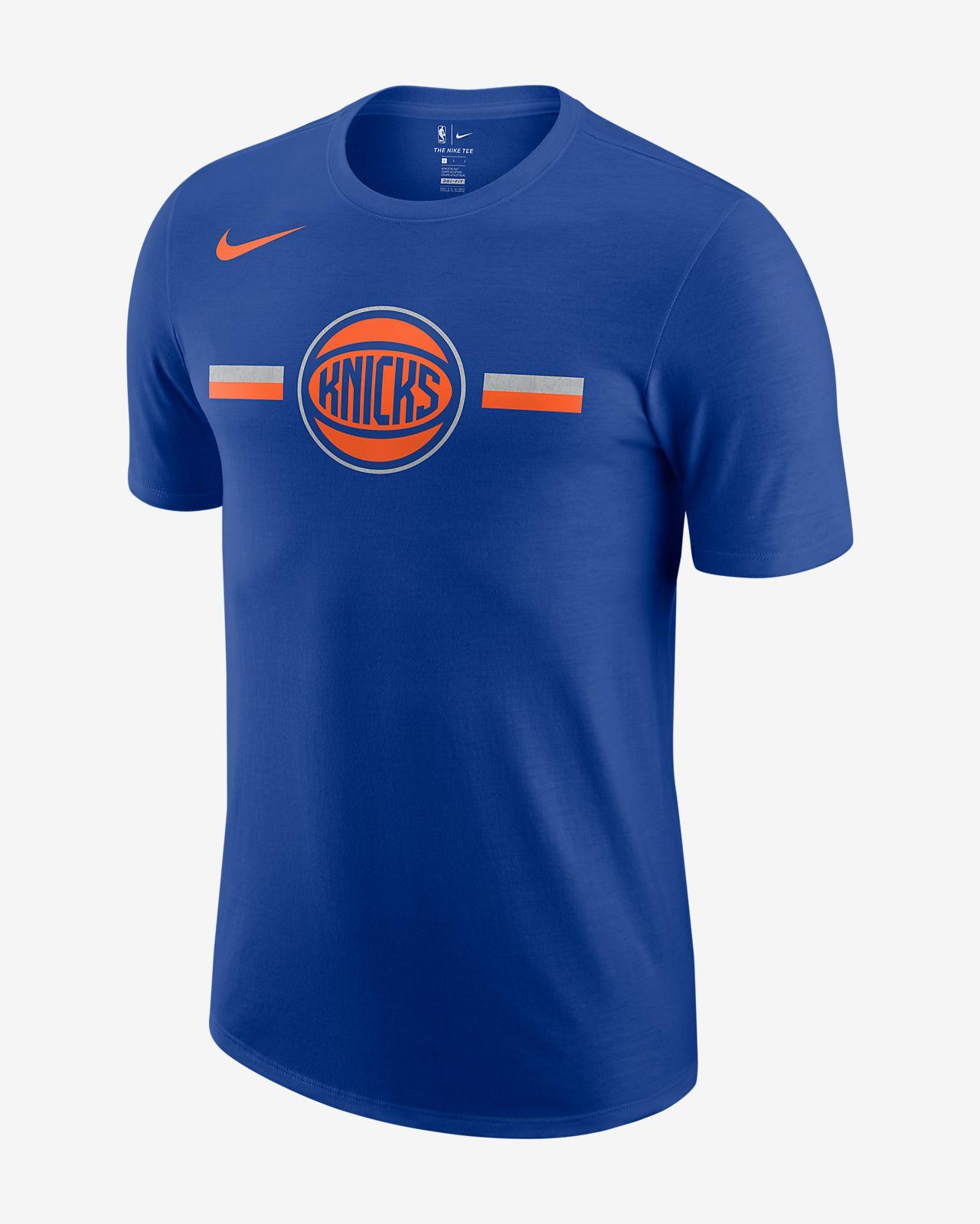 เสื้อยืด NBA ผู้ชาย New York Knicks Nike Dri-FIT