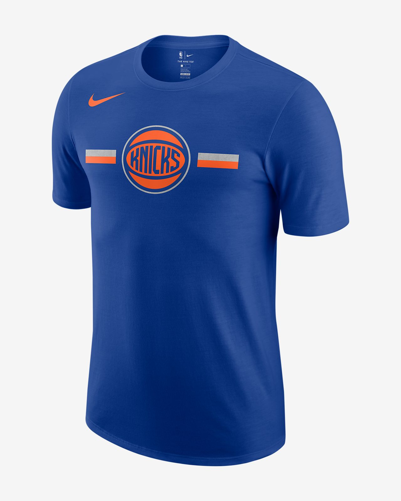 12487c31b603 New York Knicks Nike Dri-FIT Men s NBA T-Shirt. Nike.com