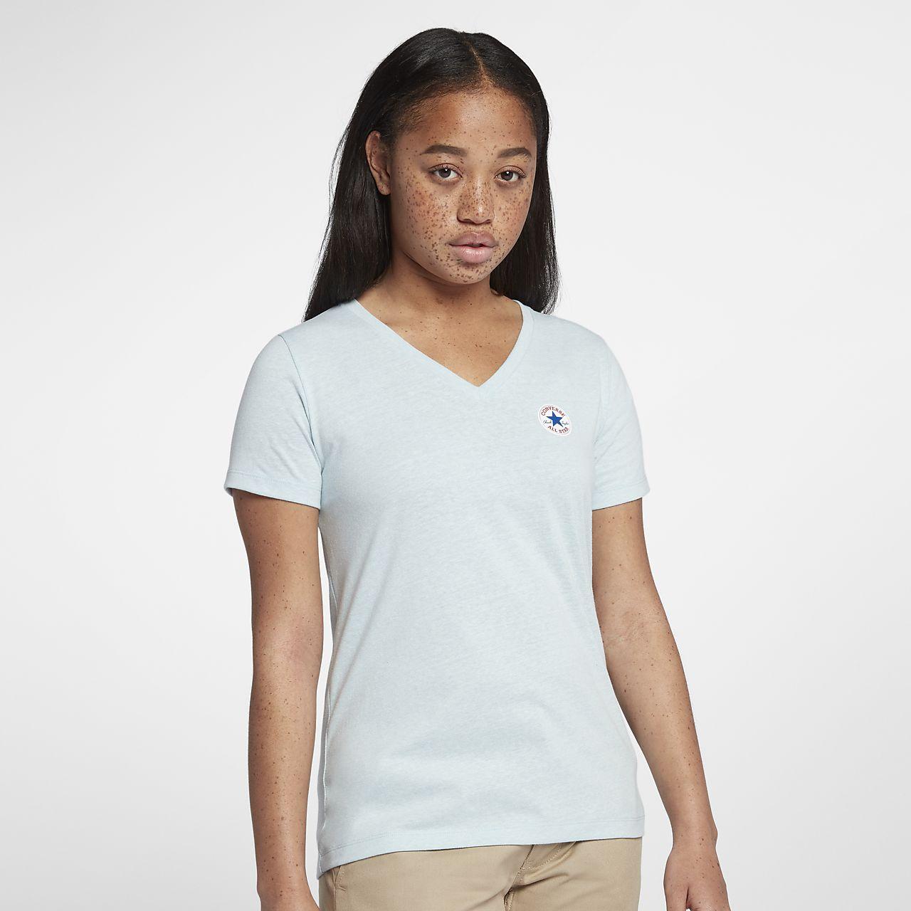 Converse Core Tri-Blend Women's V-Neck T-Shirt
