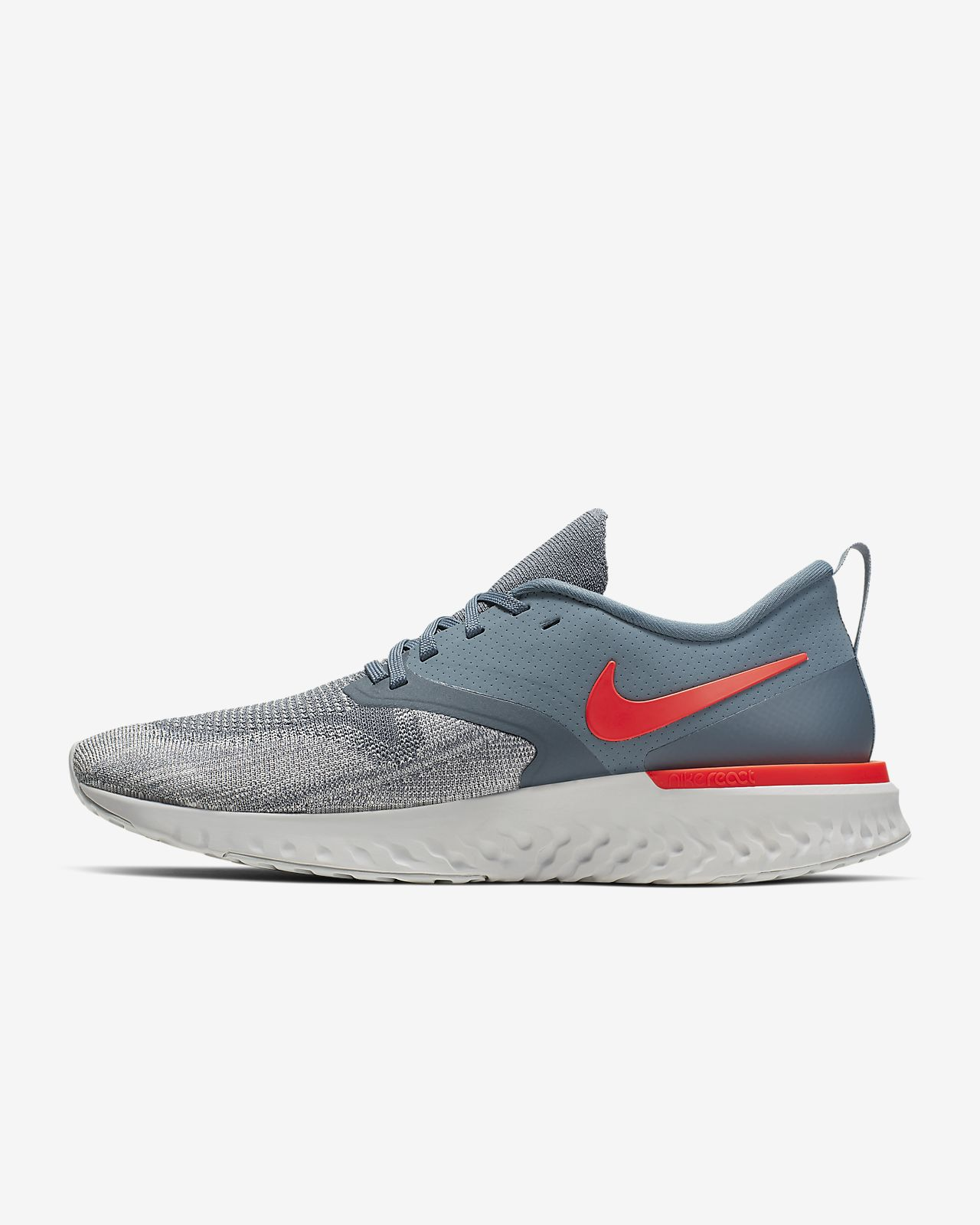 buy popular a8a50 38fa3 ... Nike Odyssey React Flyknit 2 Mens Running Shoe