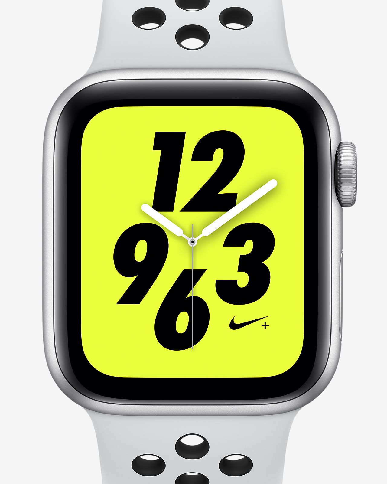 Apple Watch Nike+ Series 4 (GPS + Mobilfunk) mit Nike Sport Band 40-mm-Sportuhr