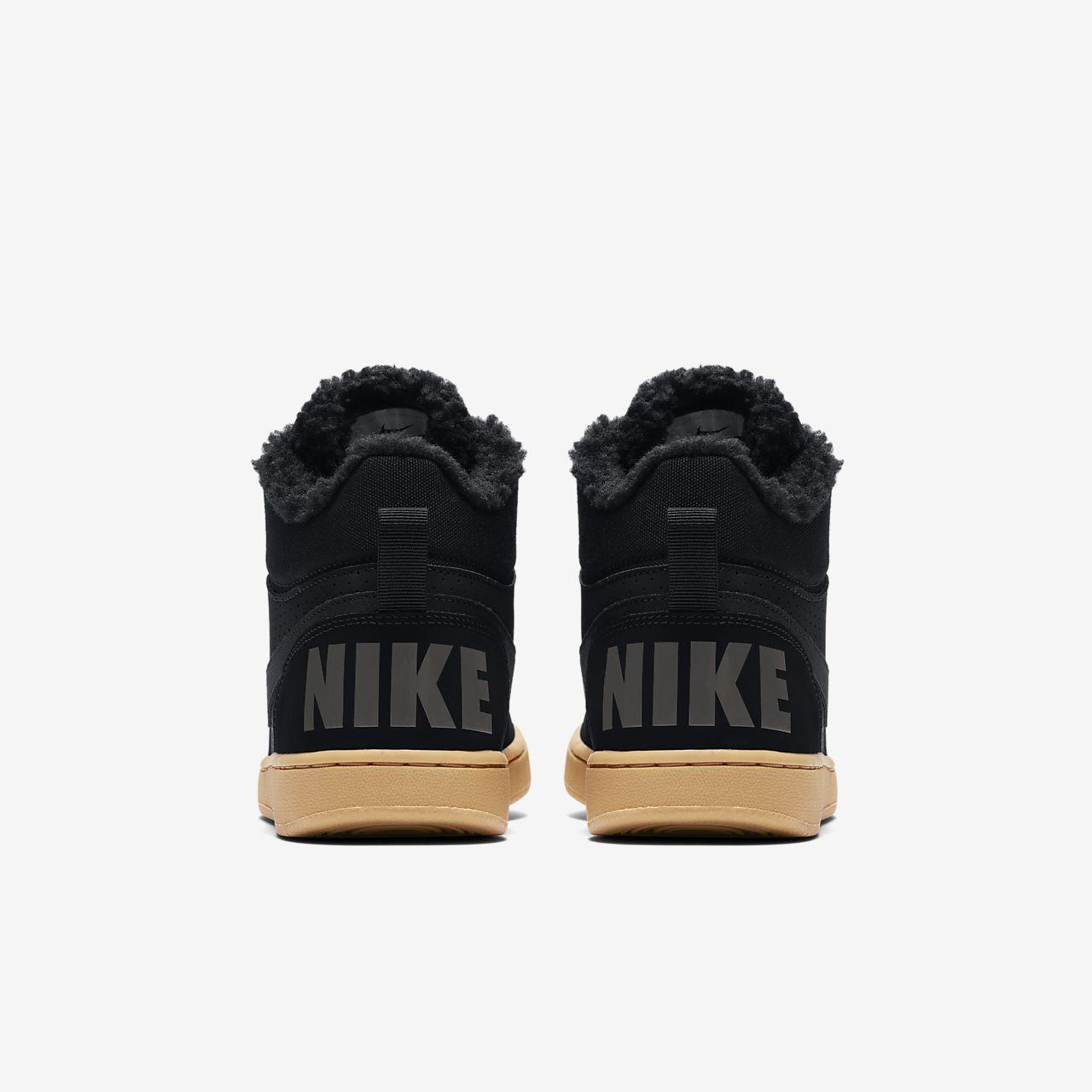 Âgé Chaussure Enfant Borough Mid Nike Court Plus Pour Winter 8nvOmwyN0