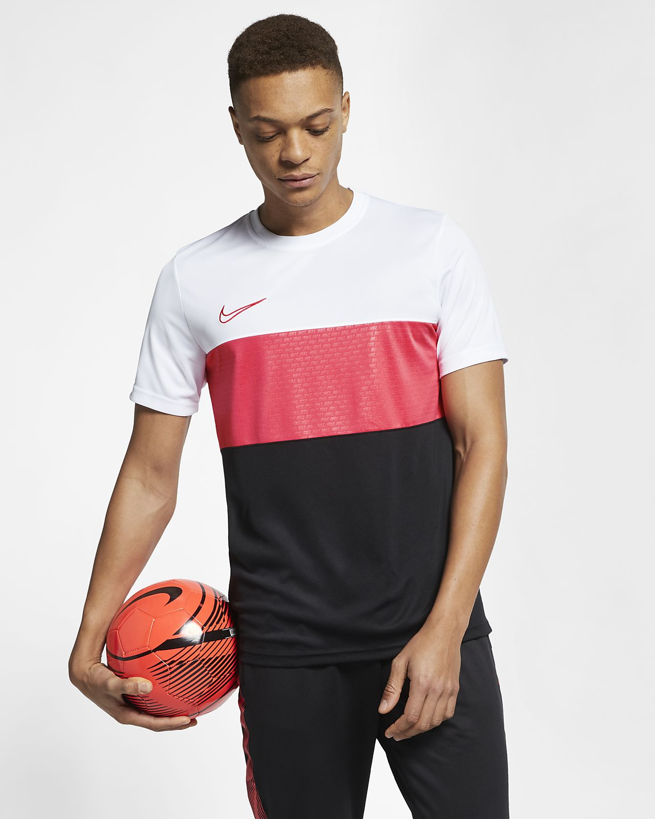 ad9fdc41c58e1 Nike Dri-FIT Academy Men s Football Short-Sleeve Top. Nike.com IN