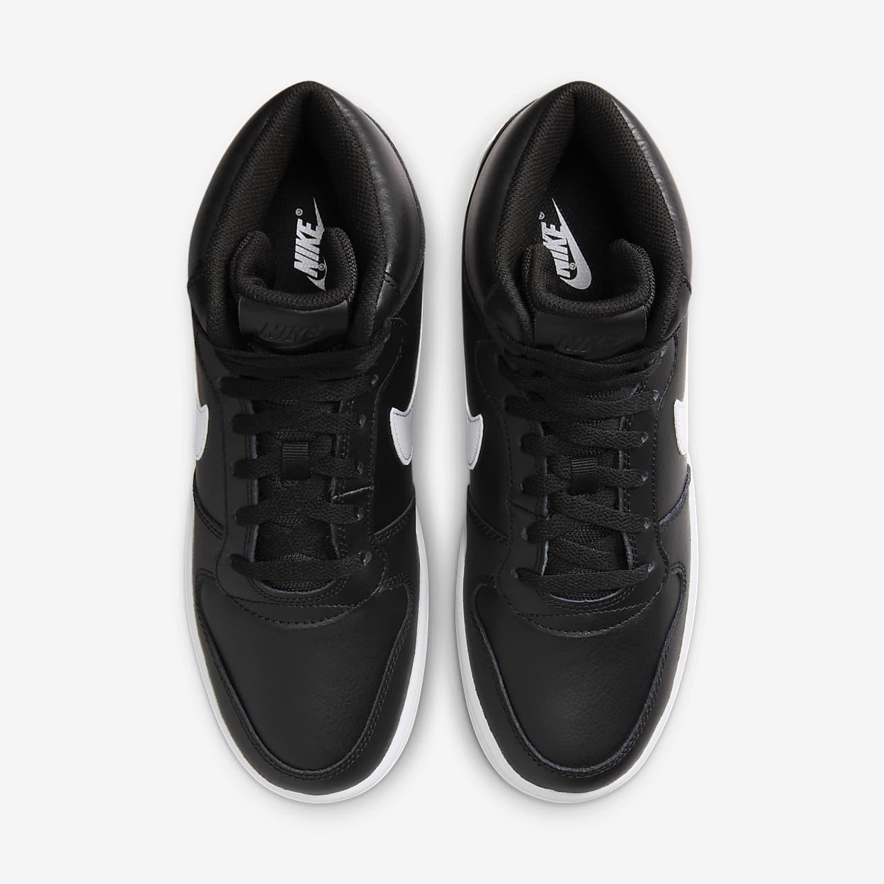 NIKE Ebernon Mid Herren Sneaker Weiß Schuhe, Größe:43