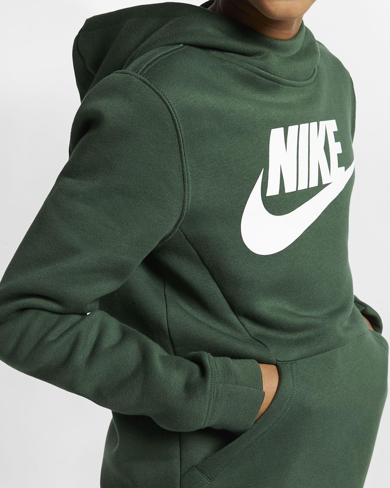 83c59fe79b0d Nike Sportswear Boys  Fleece Pullover Hoodie. Nike.com