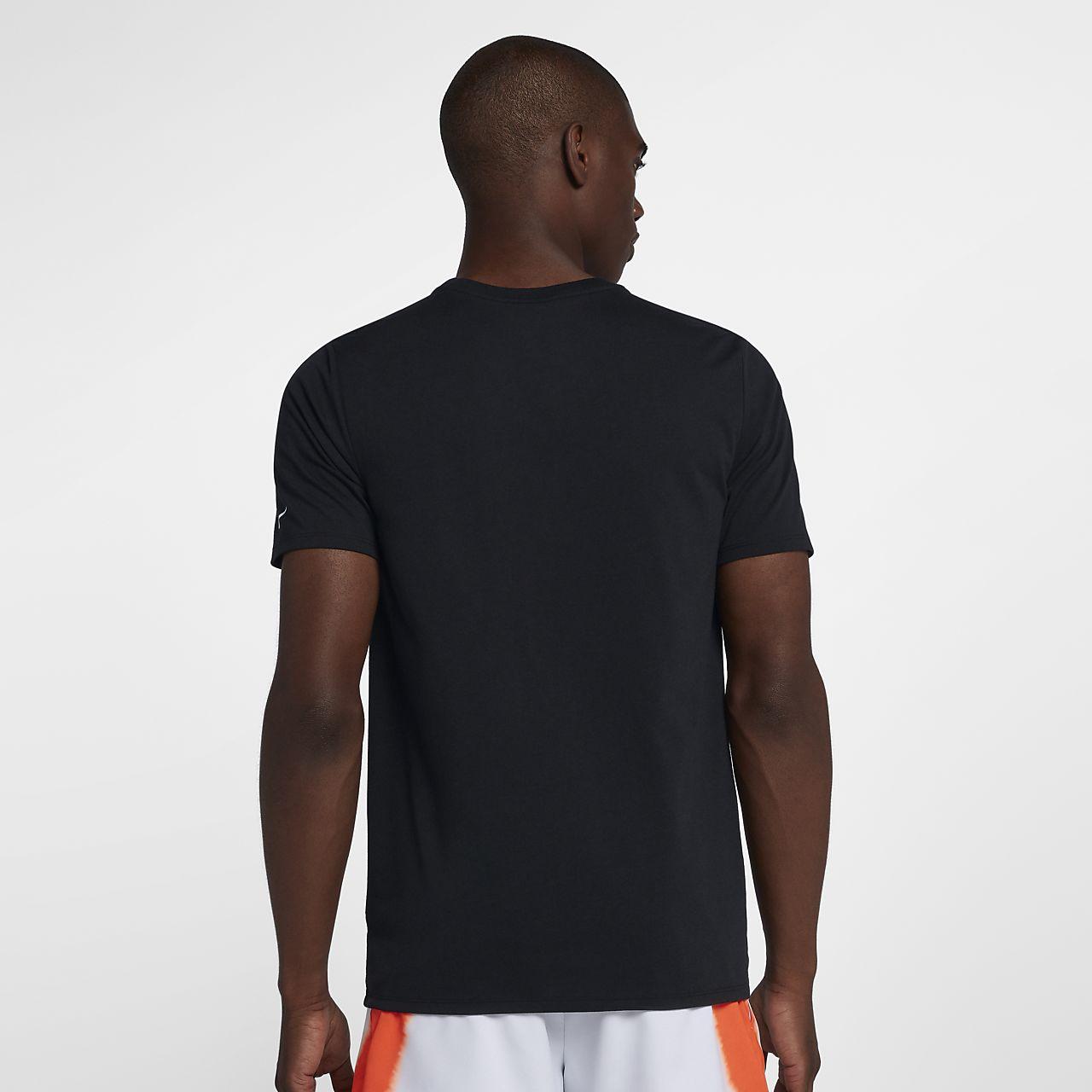 4fdf62a9a NikeCourt Dri-FIT Rafa Men's Tennis T-Shirt. Nike.com