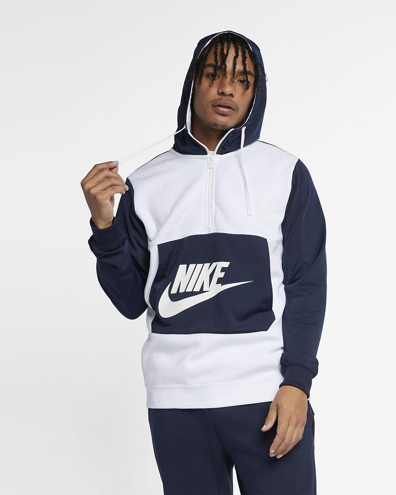 2ef48ed7c2cb Nike Sportswear Men s 1 2-Zip Hoodie. Nike.com NO