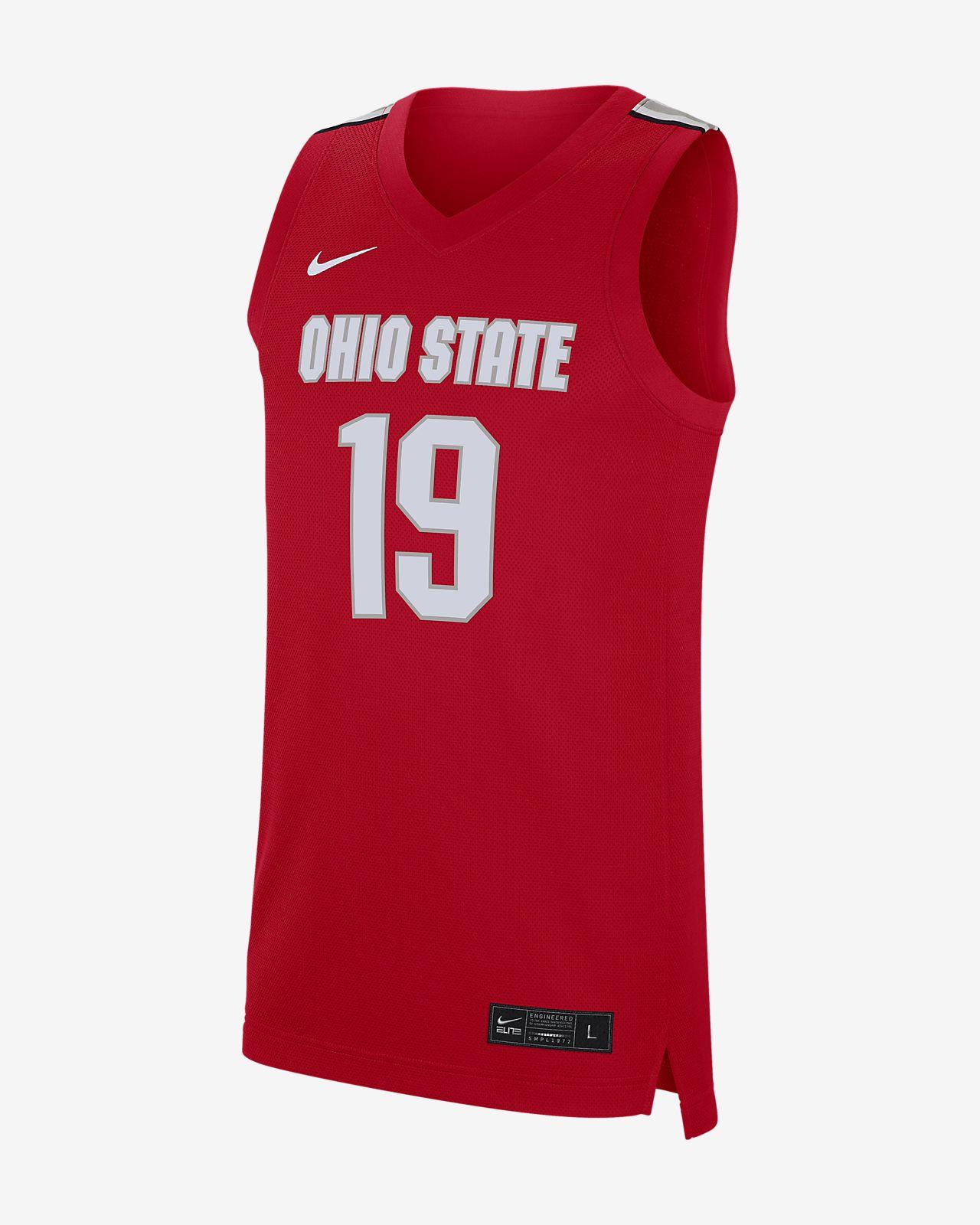 Nike College (Ohio State) Men's Basketball Jersey