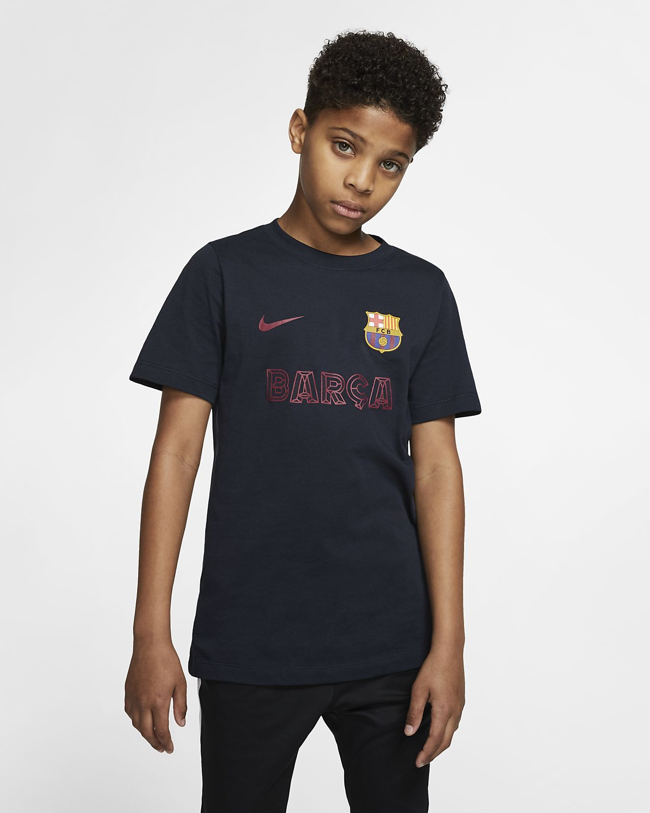 FC Barcelona T-Shirt für ältere Kinder