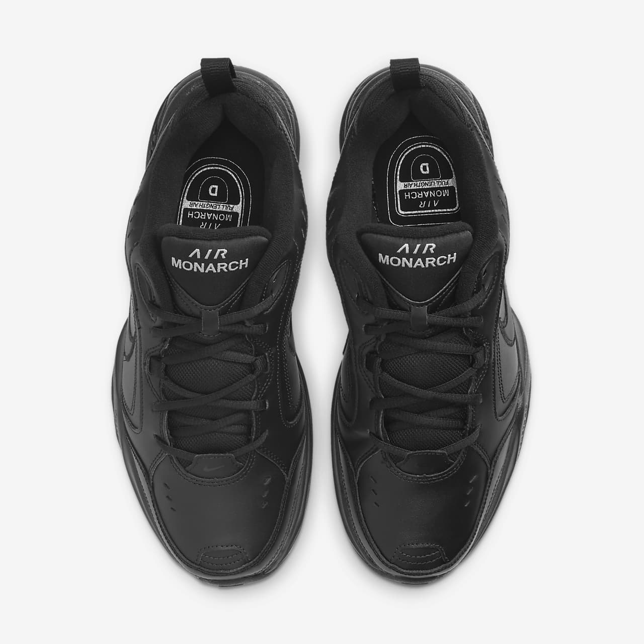 Cipő NIKE Air Monarch IV 415445 001 BlackBlack Fitnesz