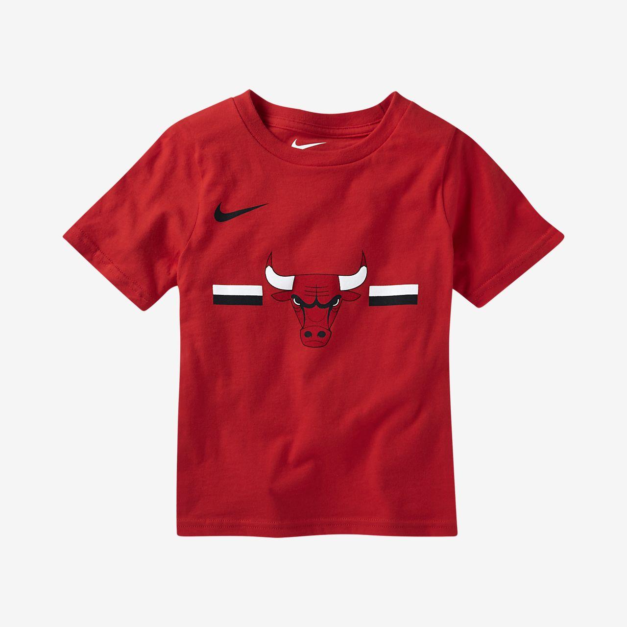 chicago bulls nike logo toddler nba t shirt. Black Bedroom Furniture Sets. Home Design Ideas