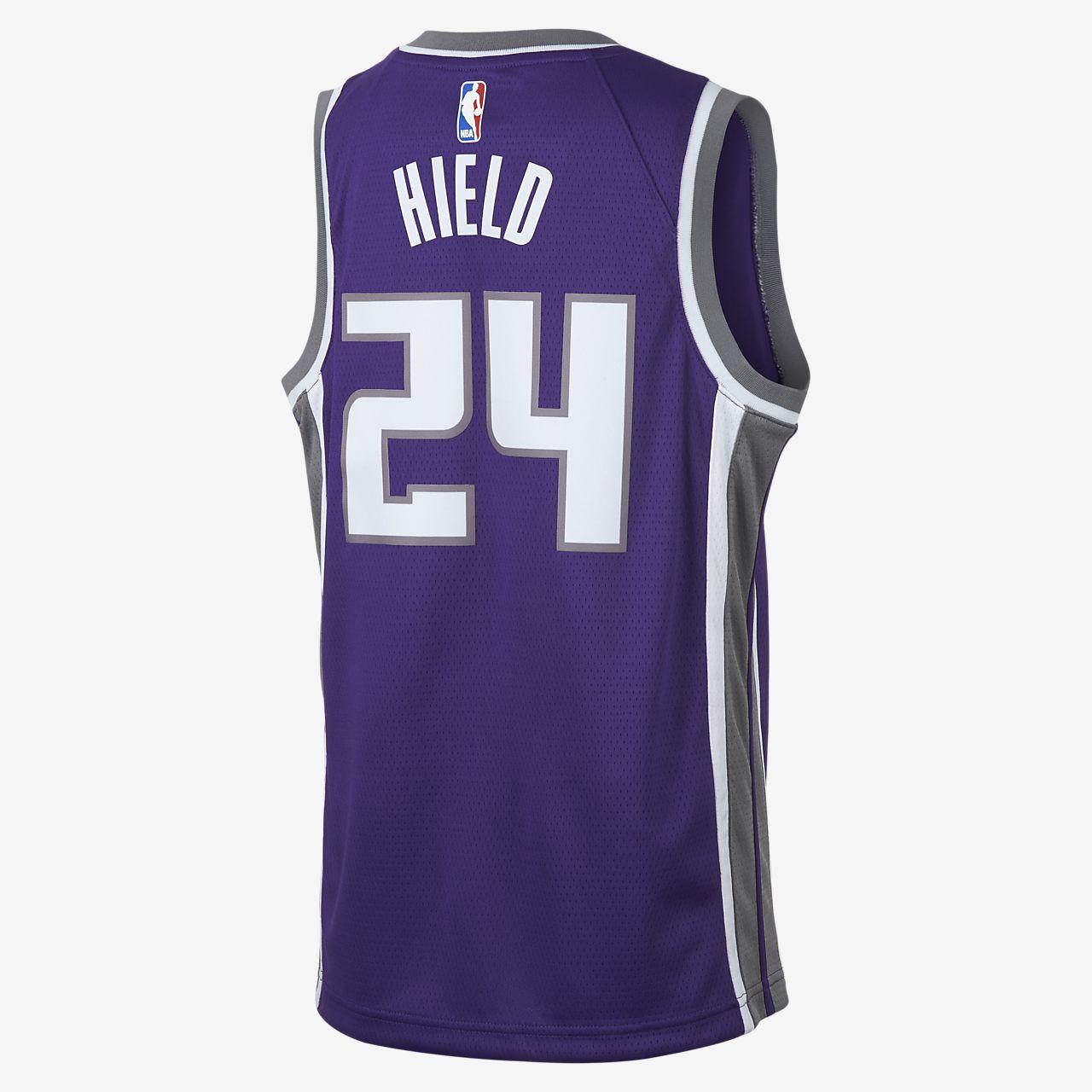 93c7d9fed ... Buddy Hield Sacramento Kings Nike Icon Edition Swingman Big Kids  NBA  Jersey