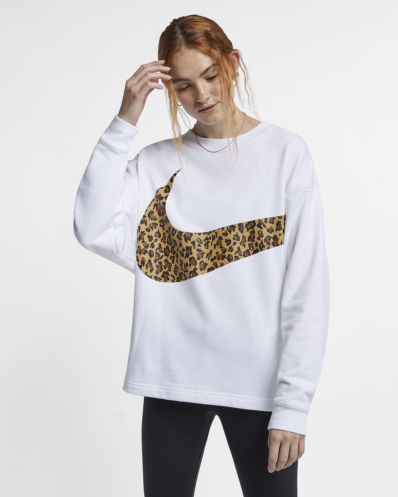 Haut à imprimé animal Nike Sportswear pour Femme