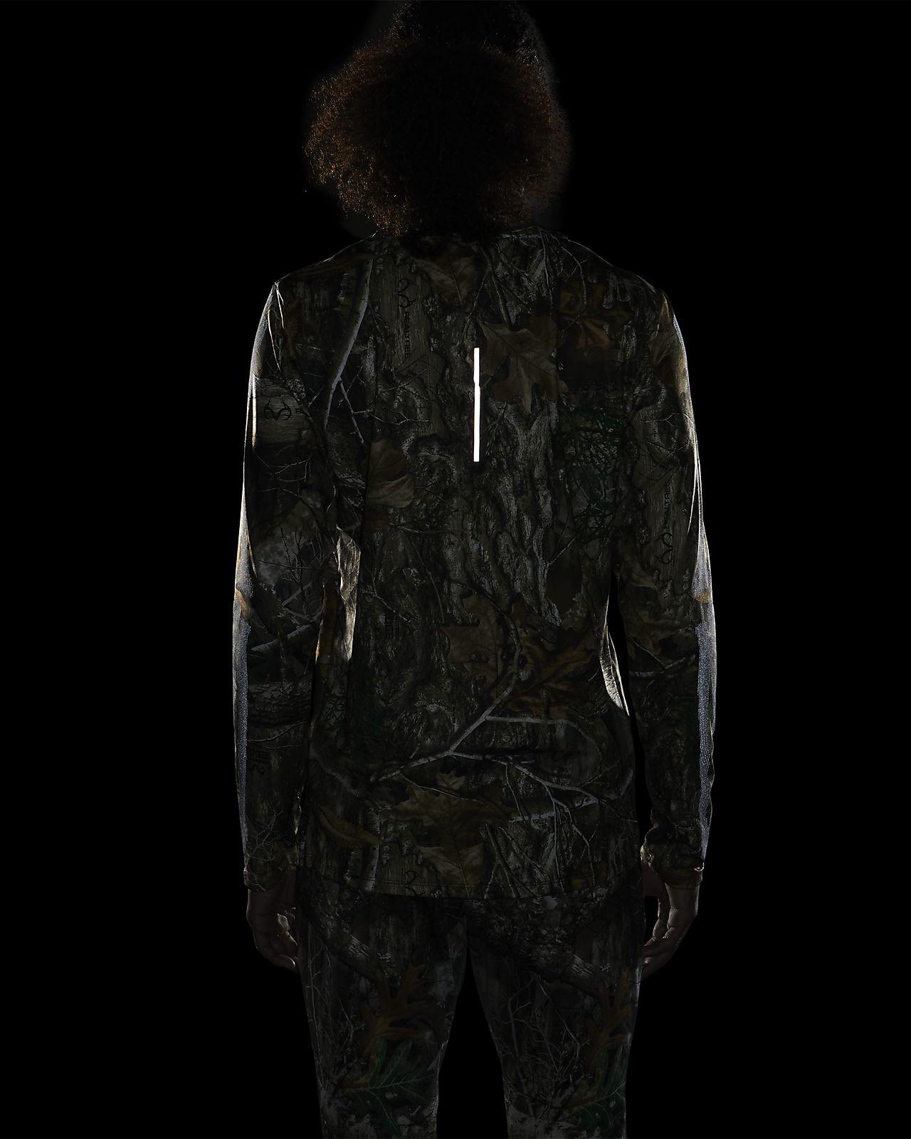 Nike Men's Long Sleeve Skeleton Top