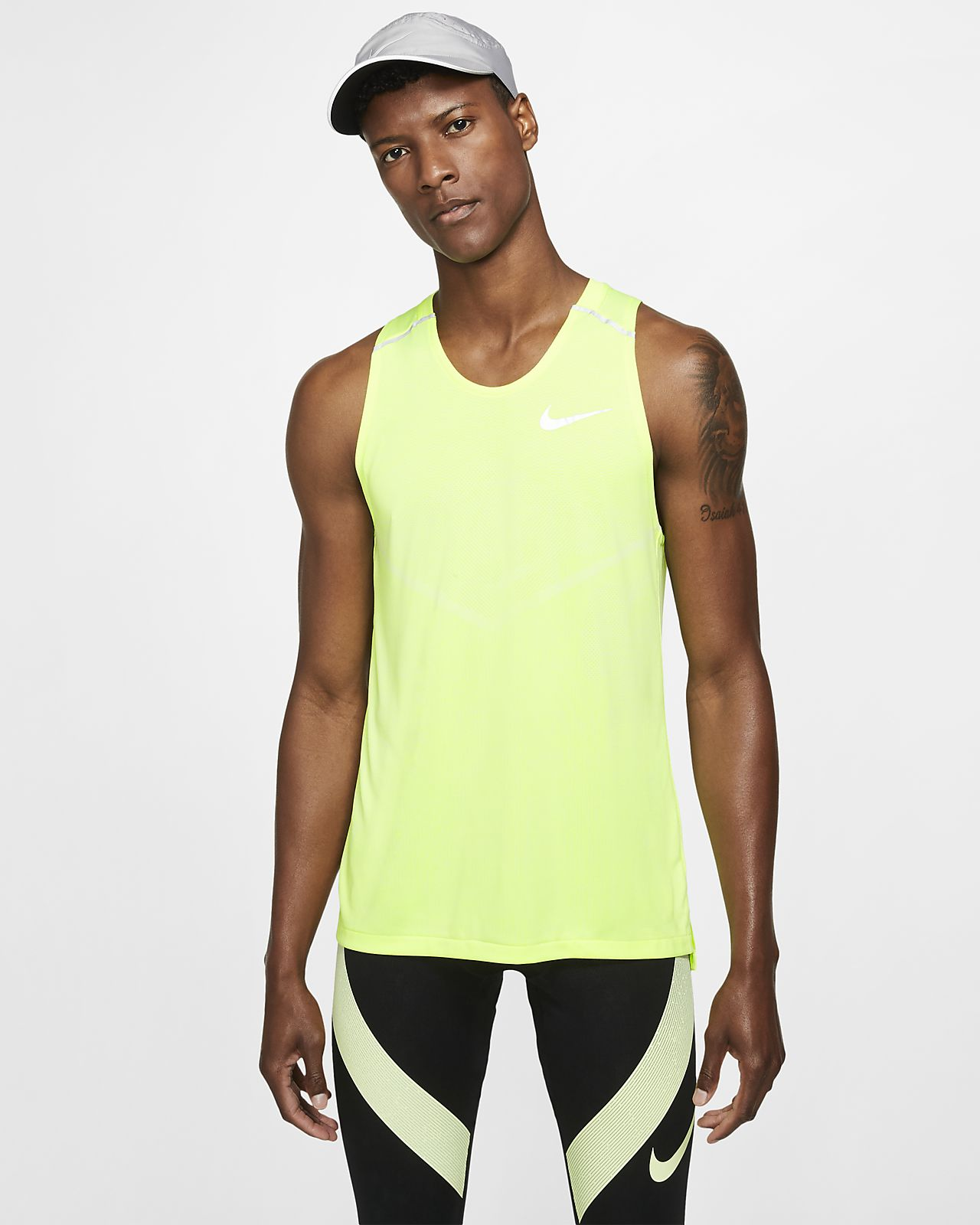 Pánské běžecké tílko Nike TechKnit Cool
