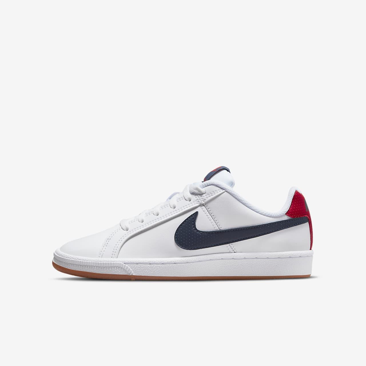 Calzado para niños talla grande NikeCourt Royale