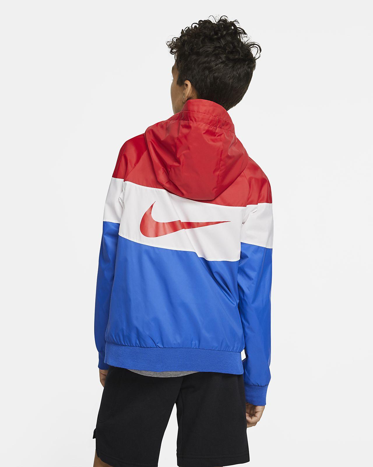 Windrunner Nike Enfant Sportswear âgé plus Veste pour BQxhdCtsr