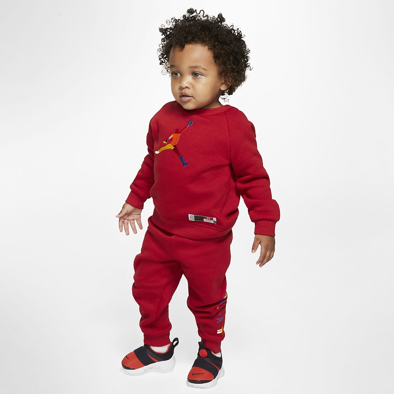Jordan Jumpman Baby (12–24M) Crew and Joggers (2 Piece Set)